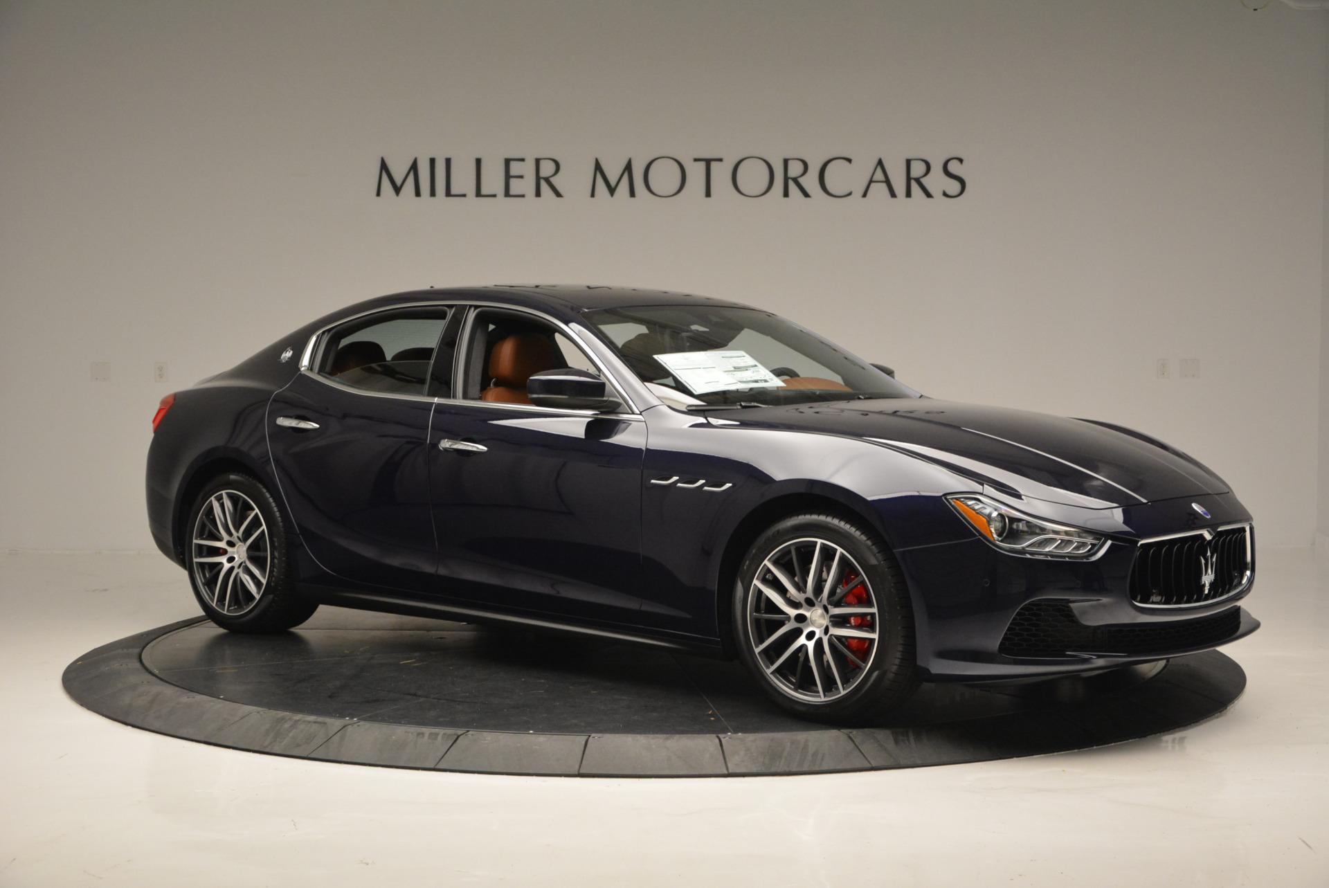 Used 2017 Maserati Ghibli S Q4 - EX Loaner For Sale In Greenwich, CT 568_p10