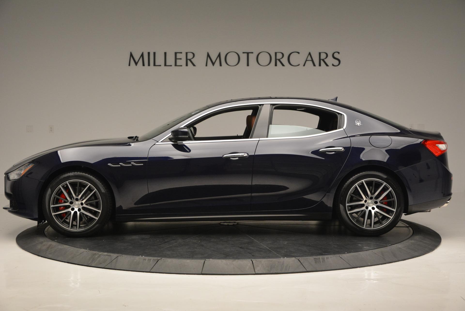 Used 2017 Maserati Ghibli S Q4 - EX Loaner For Sale In Greenwich, CT 568_p3