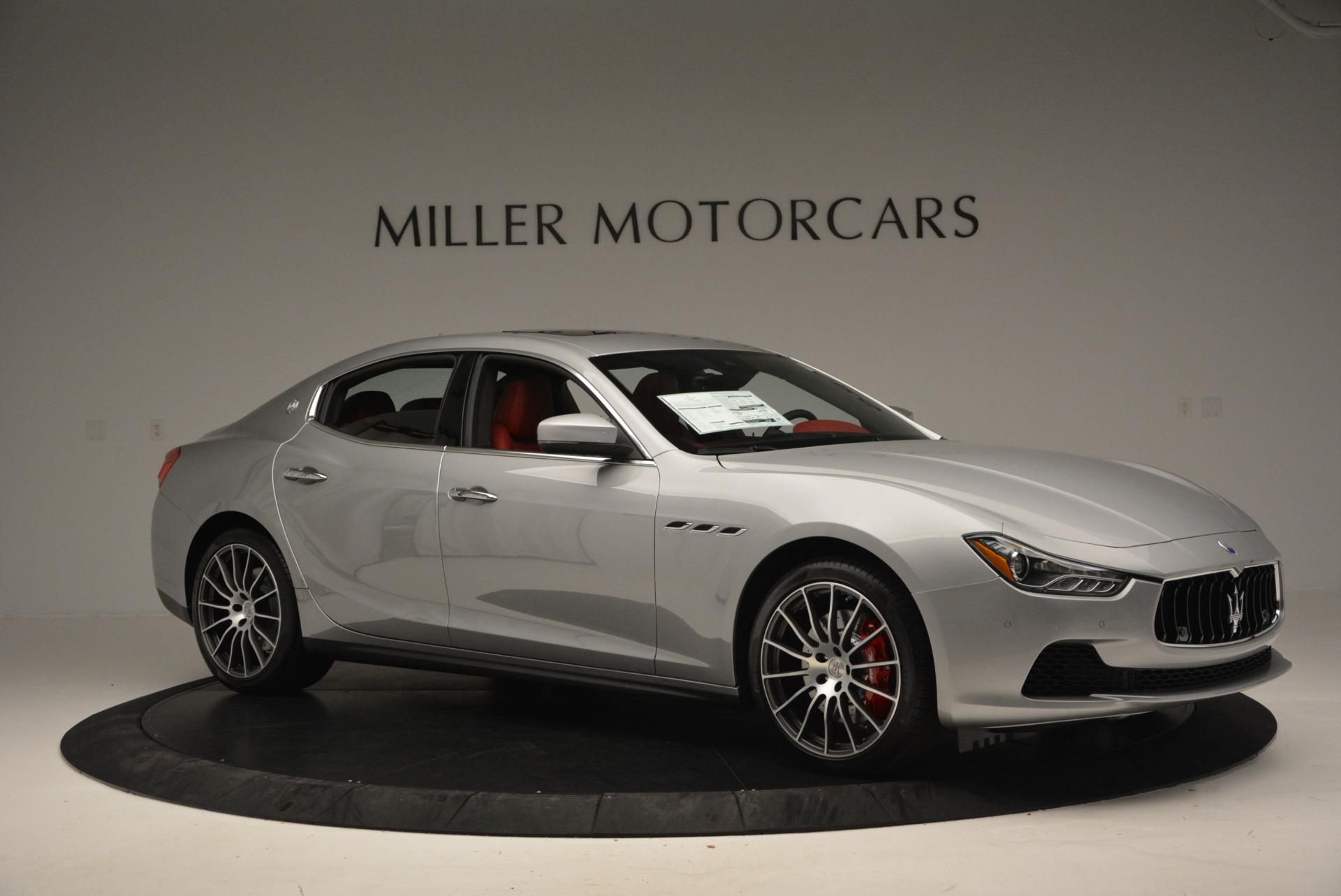 New 2017 Maserati Ghibli S Q4 For Sale In Greenwich, CT 572_p10