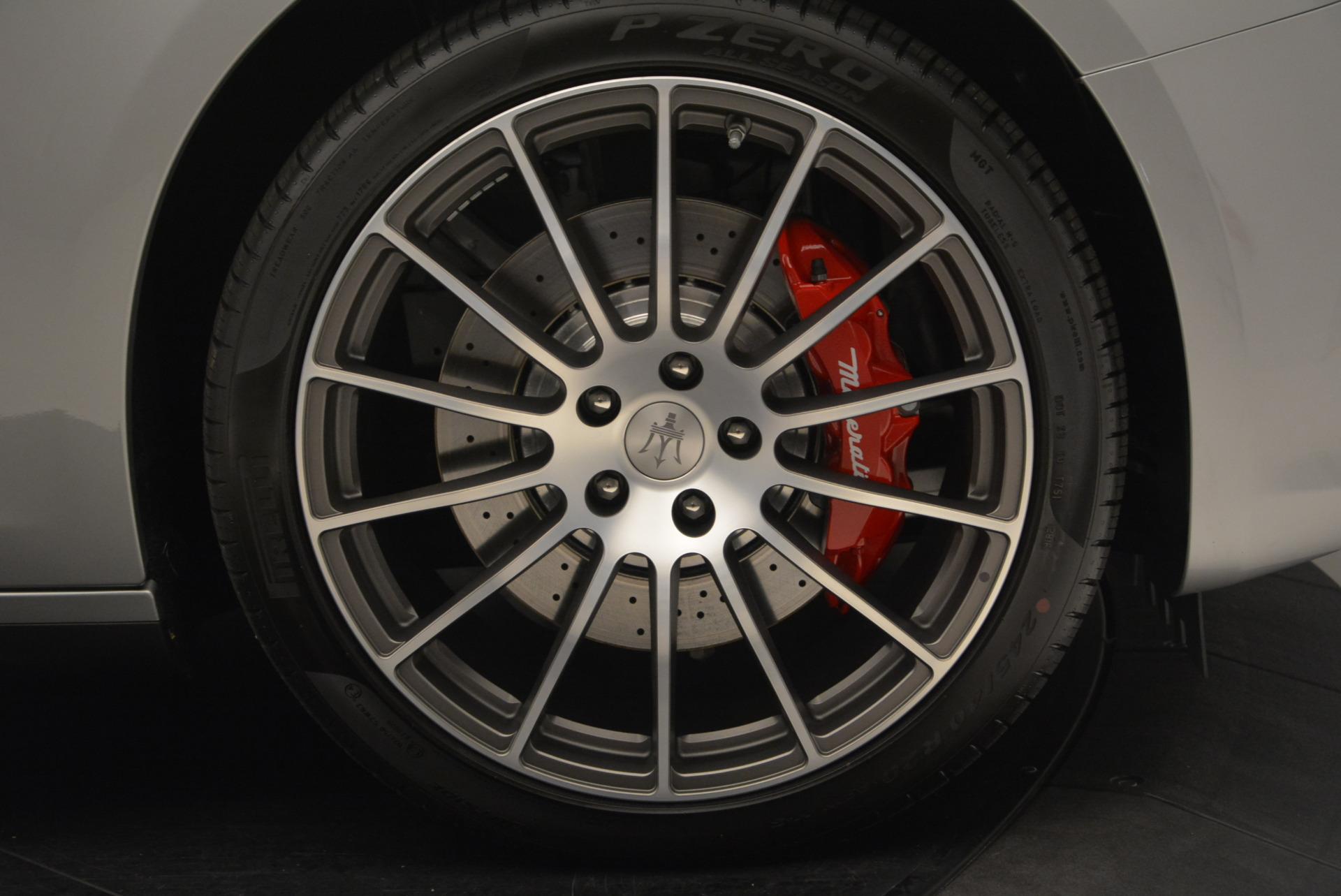 New 2017 Maserati Ghibli S Q4 For Sale In Greenwich, CT 572_p25