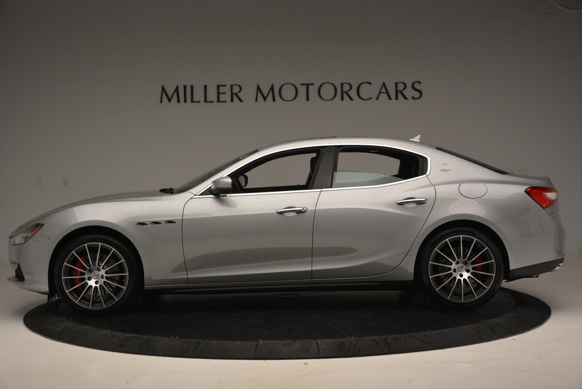 New 2017 Maserati Ghibli S Q4 For Sale In Greenwich, CT 572_p3
