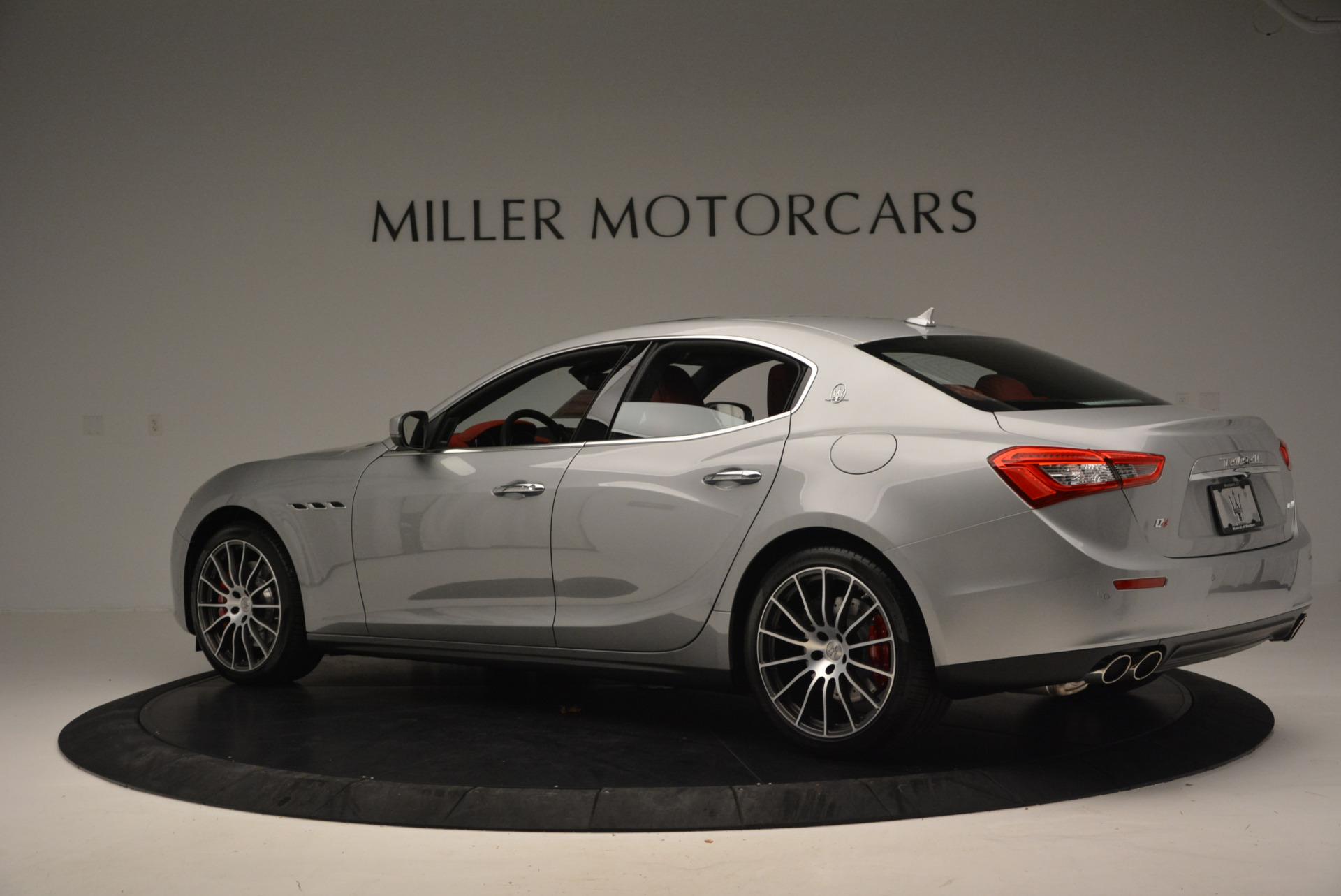 New 2017 Maserati Ghibli S Q4 For Sale In Greenwich, CT 572_p4