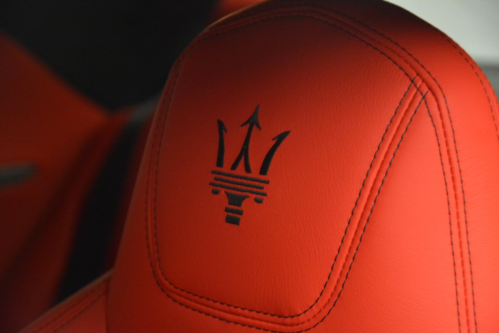 New 2017 Maserati GranTurismo Sport For Sale In Greenwich, CT 594_p19