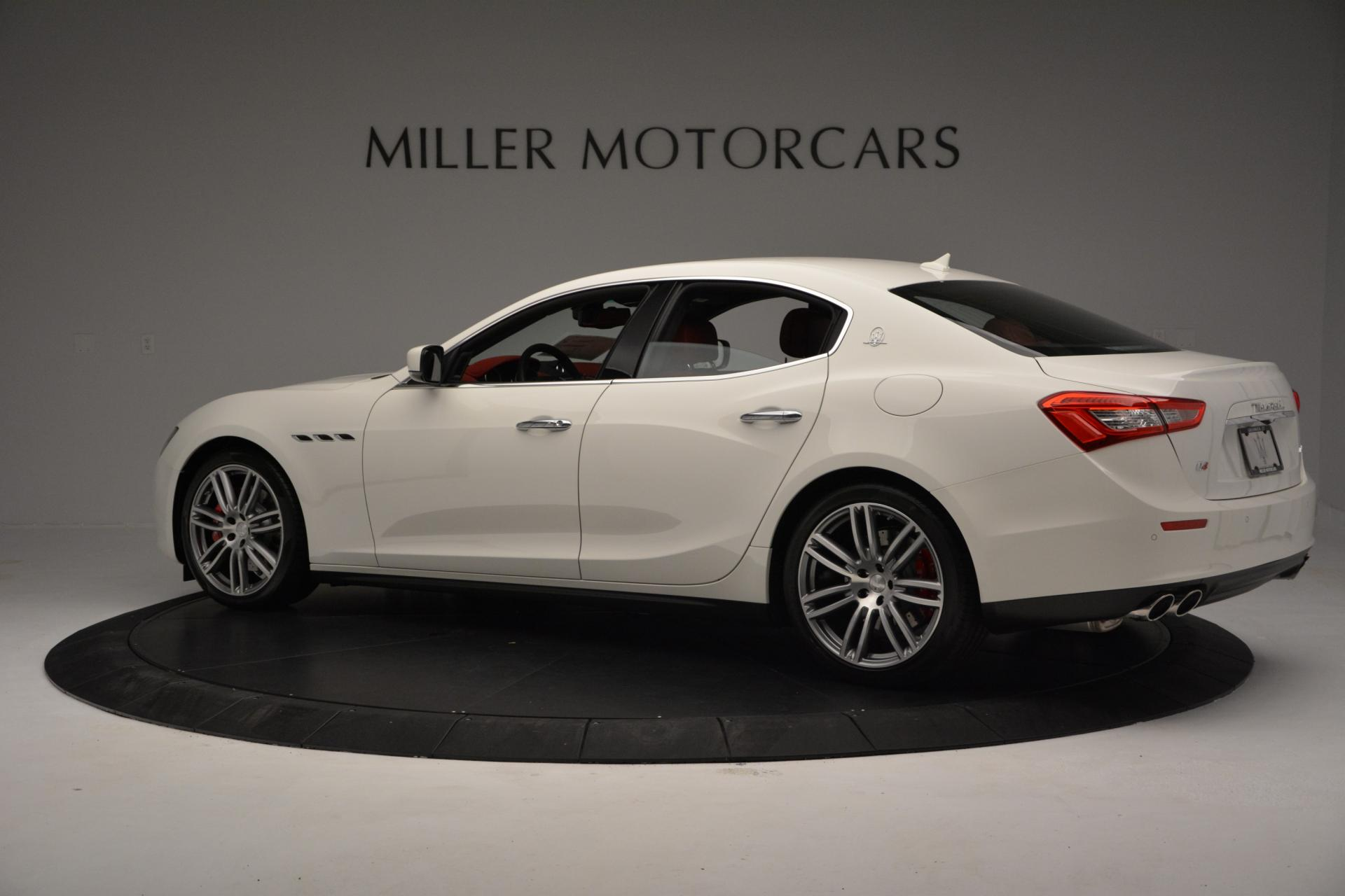 New 2016 Maserati Ghibli S Q4 For Sale In Greenwich, CT 60_p4