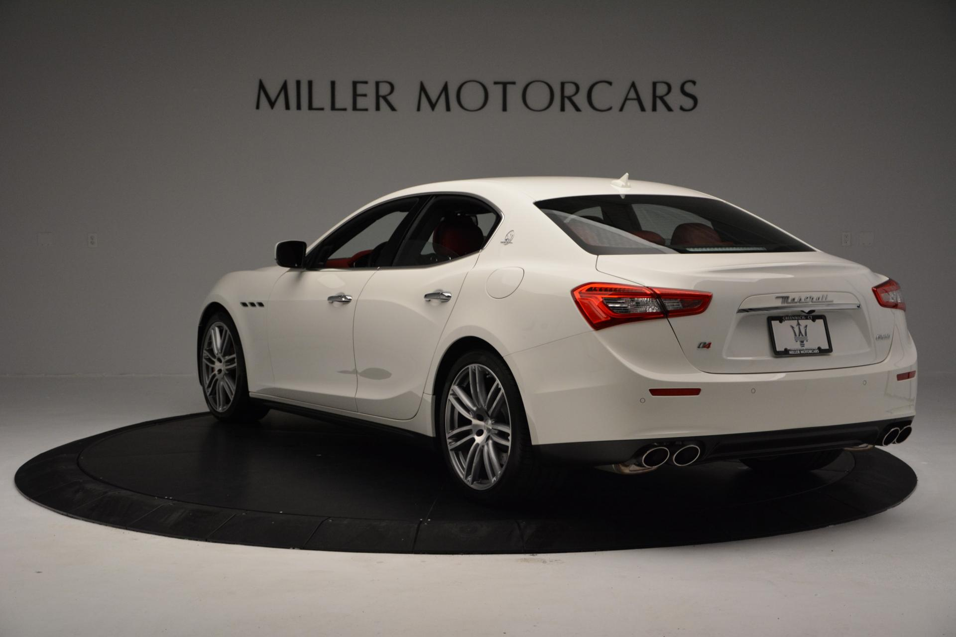New 2016 Maserati Ghibli S Q4 For Sale In Greenwich, CT 60_p5