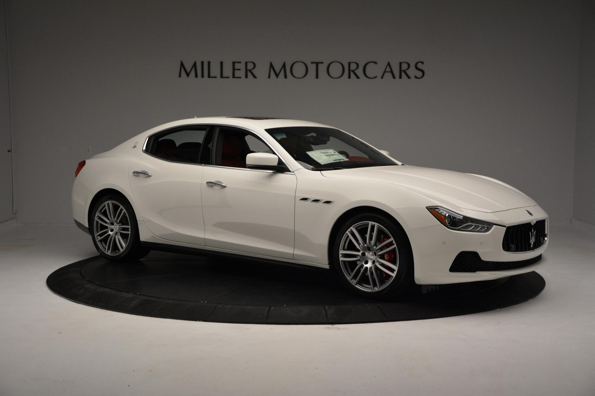 New 2016 Maserati Ghibli S Q4 For Sale In Greenwich, CT 60_p9