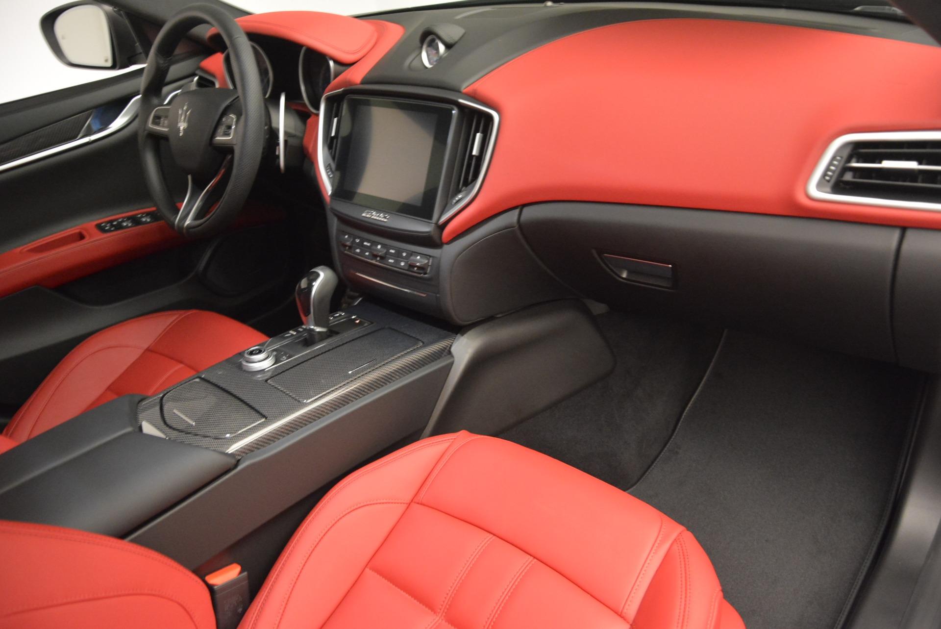New 2017 Maserati Ghibli S Q4 For Sale In Greenwich, CT 607_p19