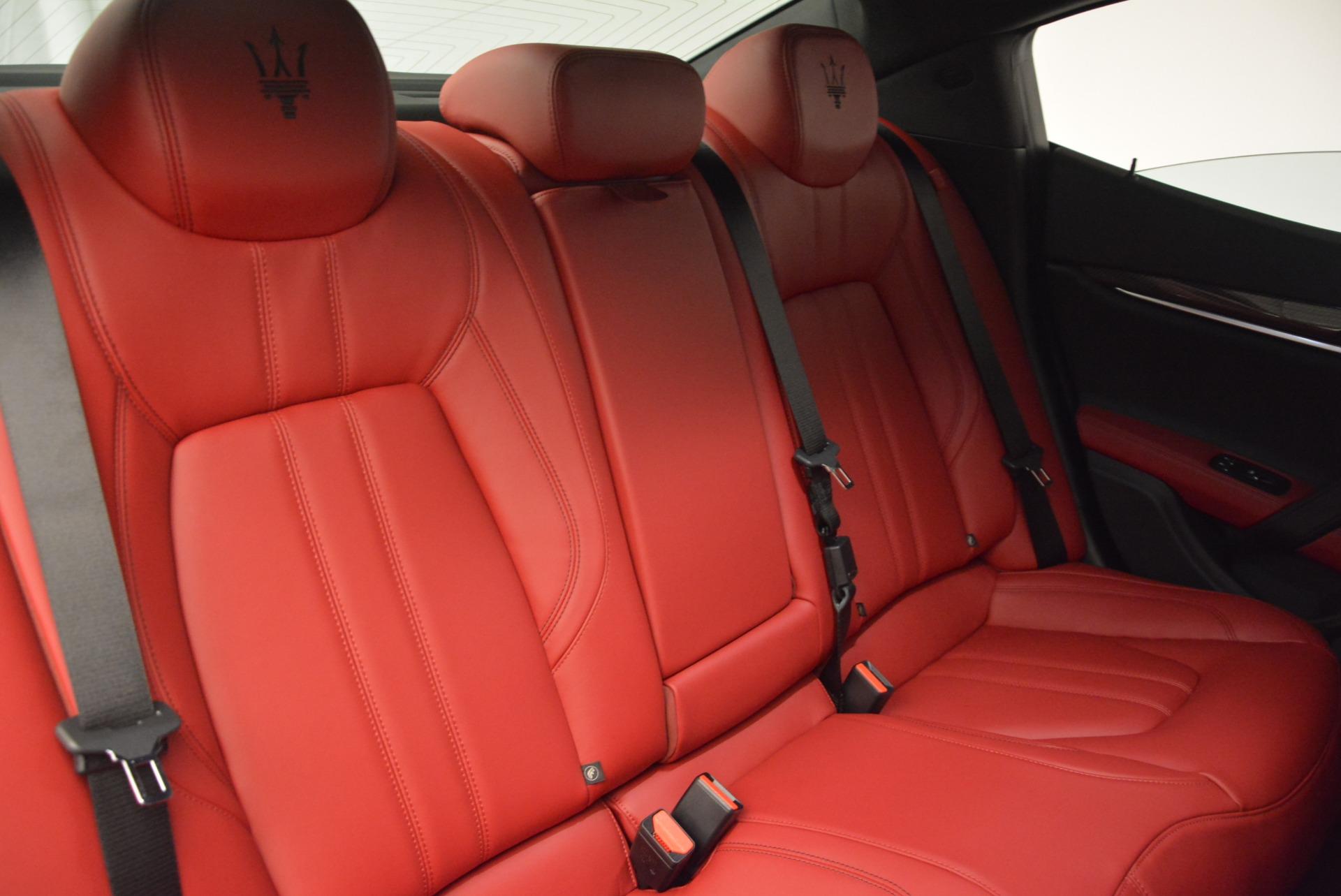 New 2017 Maserati Ghibli S Q4 For Sale In Greenwich, CT 607_p24