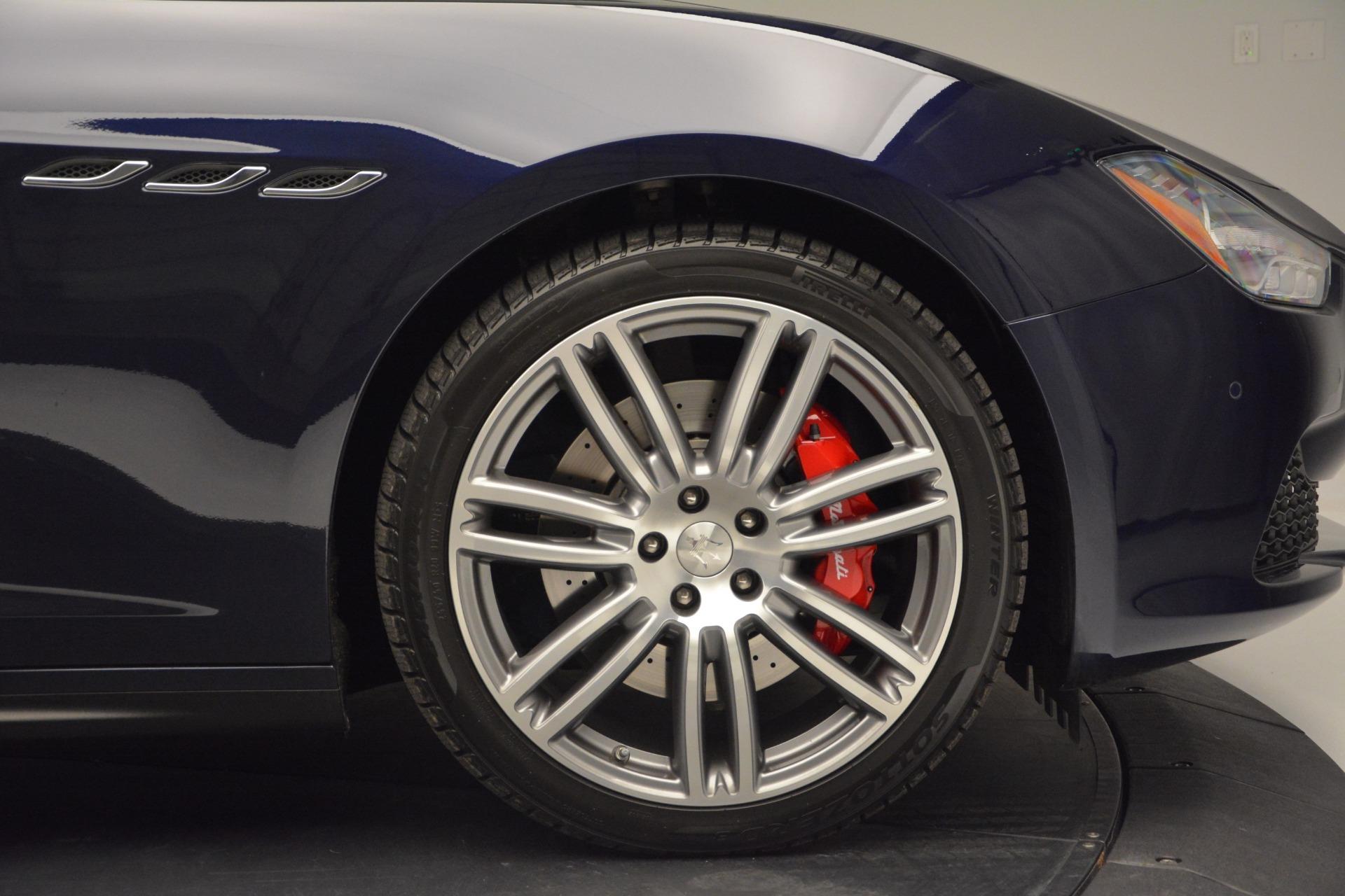 New 2017 Maserati Ghibli S Q4 For Sale In Greenwich, CT 607_p27