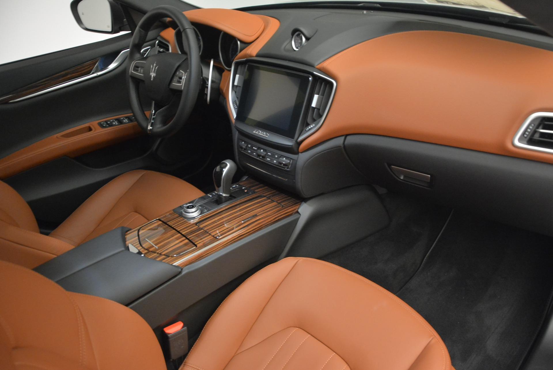 Used 2017 Maserati Ghibli S Q4 EX-LOANER For Sale In Greenwich, CT 608_p20