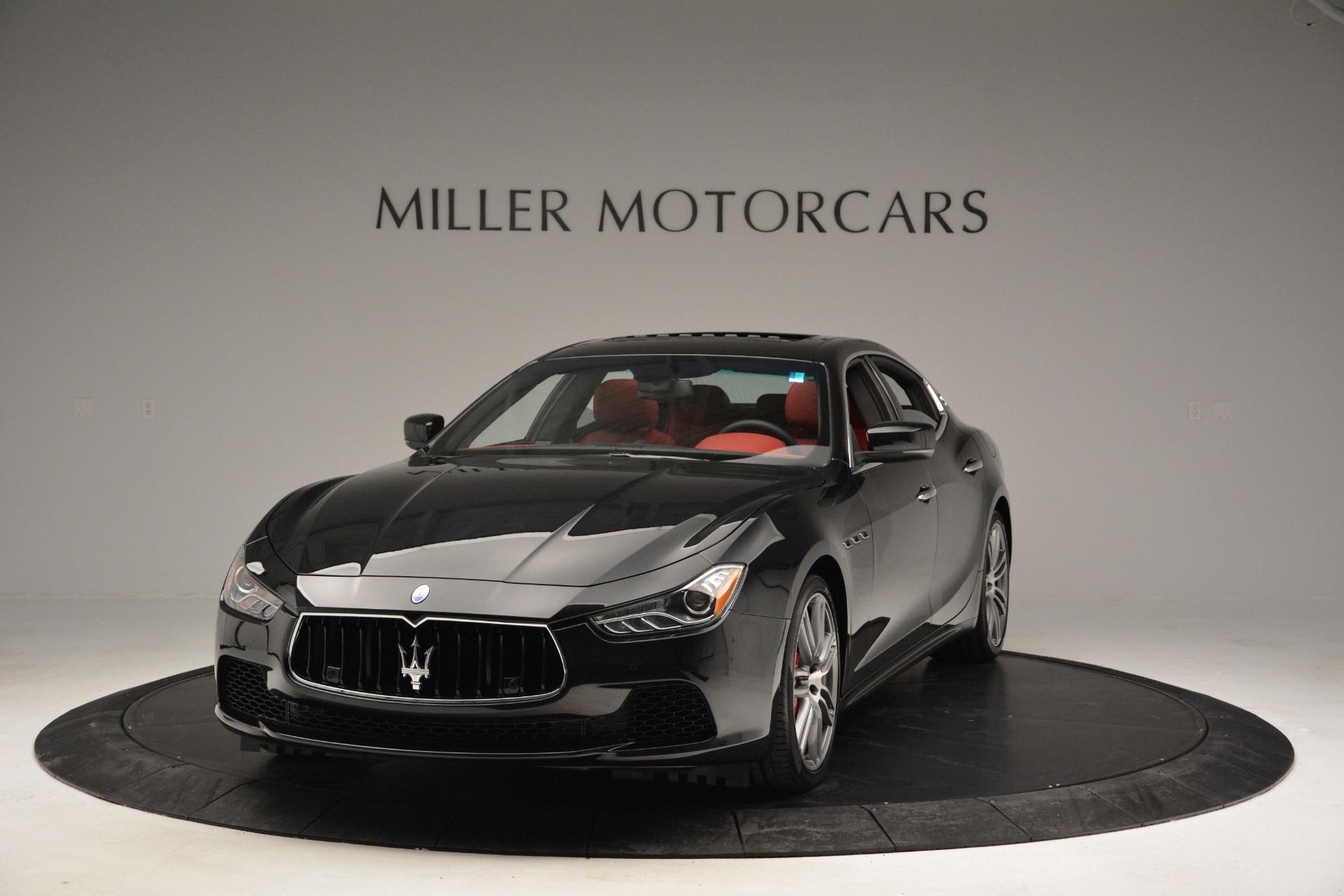 New 2017 Maserati Ghibli S Q4 For Sale In Greenwich, CT 610_p14