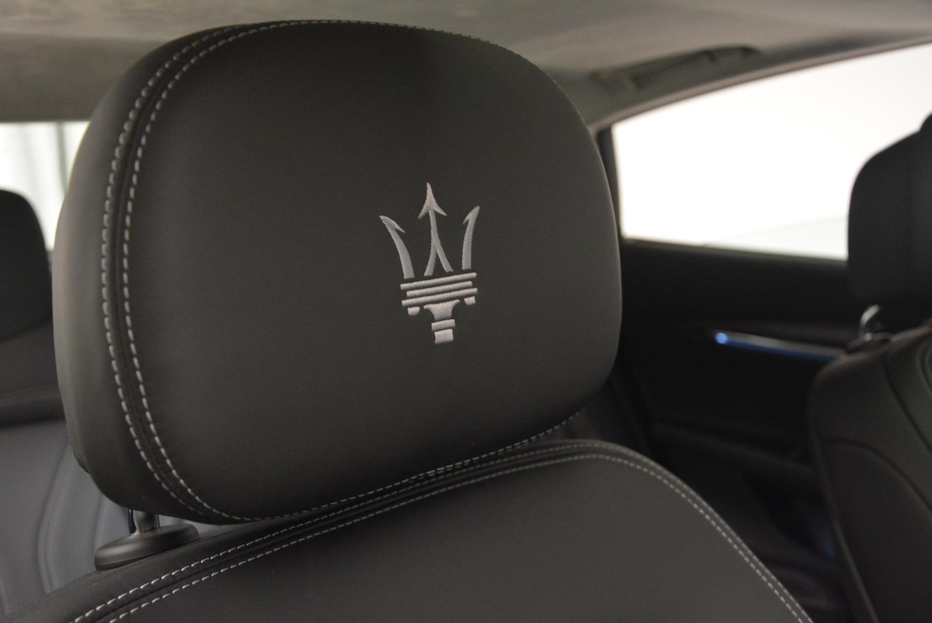 New 2017 Maserati Quattroporte S Q4 GranLusso For Sale In Greenwich, CT 611_p24