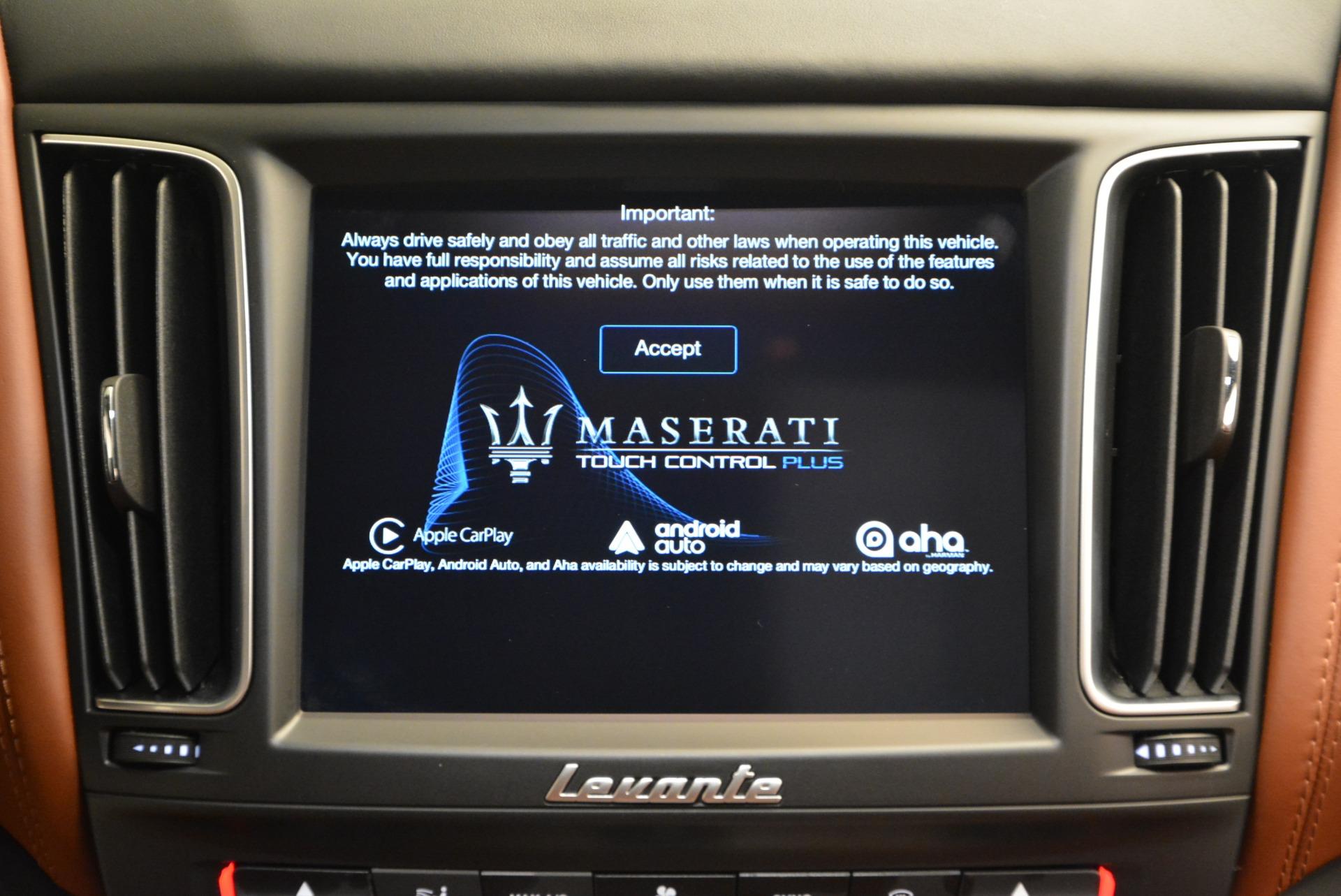 New 2017 Maserati Levante  For Sale In Greenwich, CT 612_p27