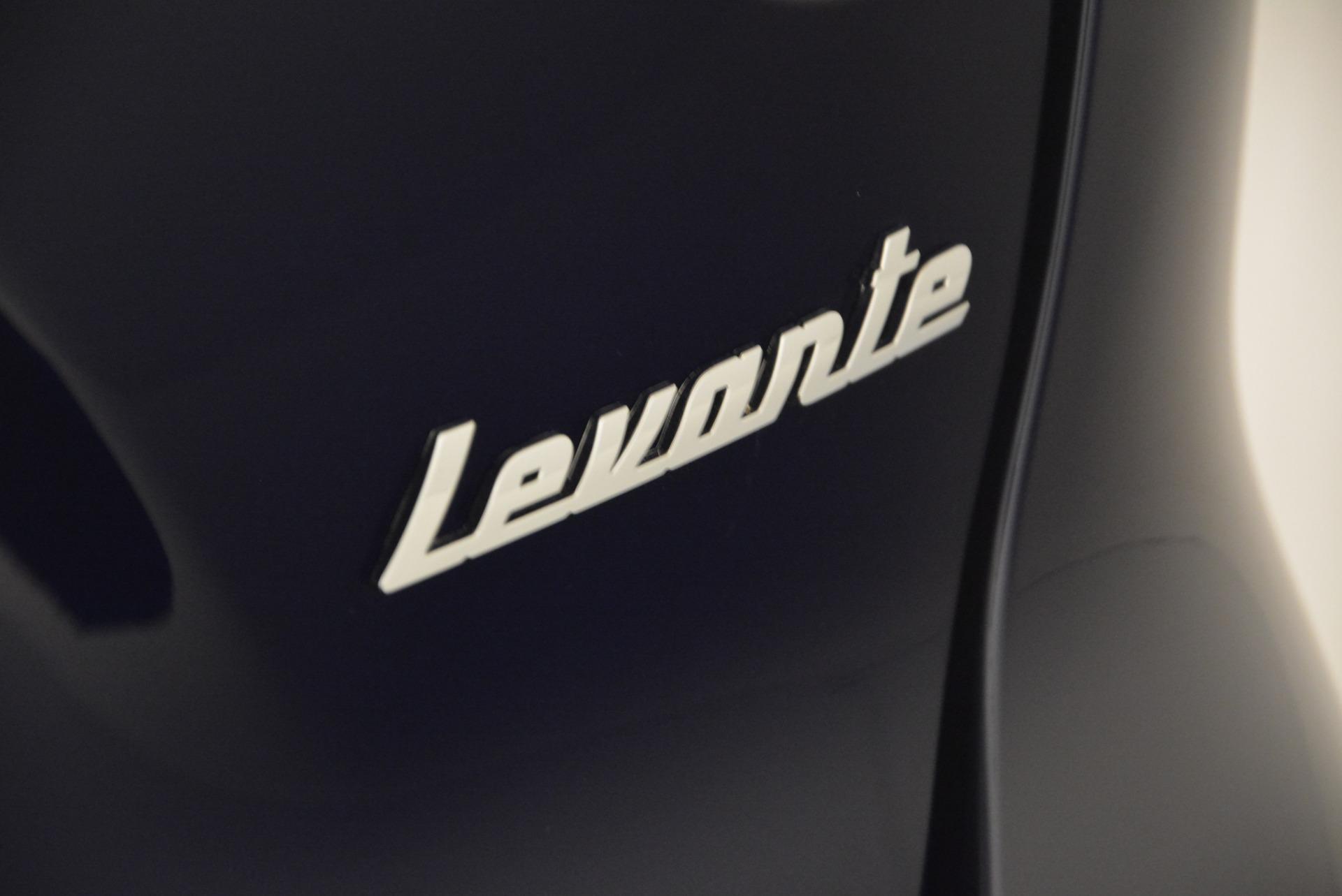 New 2017 Maserati Levante  For Sale In Greenwich, CT 612_p38