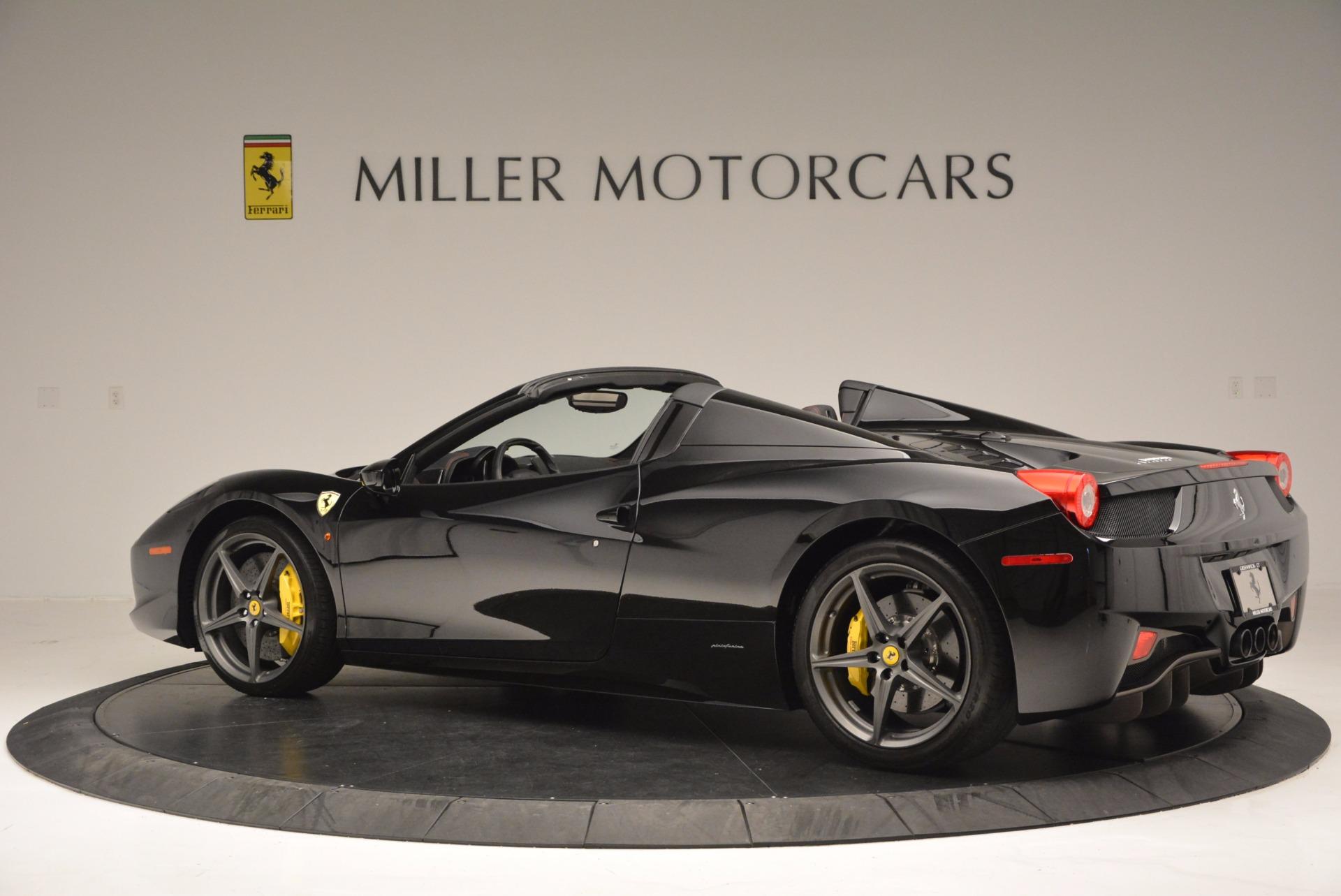 Used 2014 Ferrari 458 Spider  For Sale In Greenwich, CT 620_p4