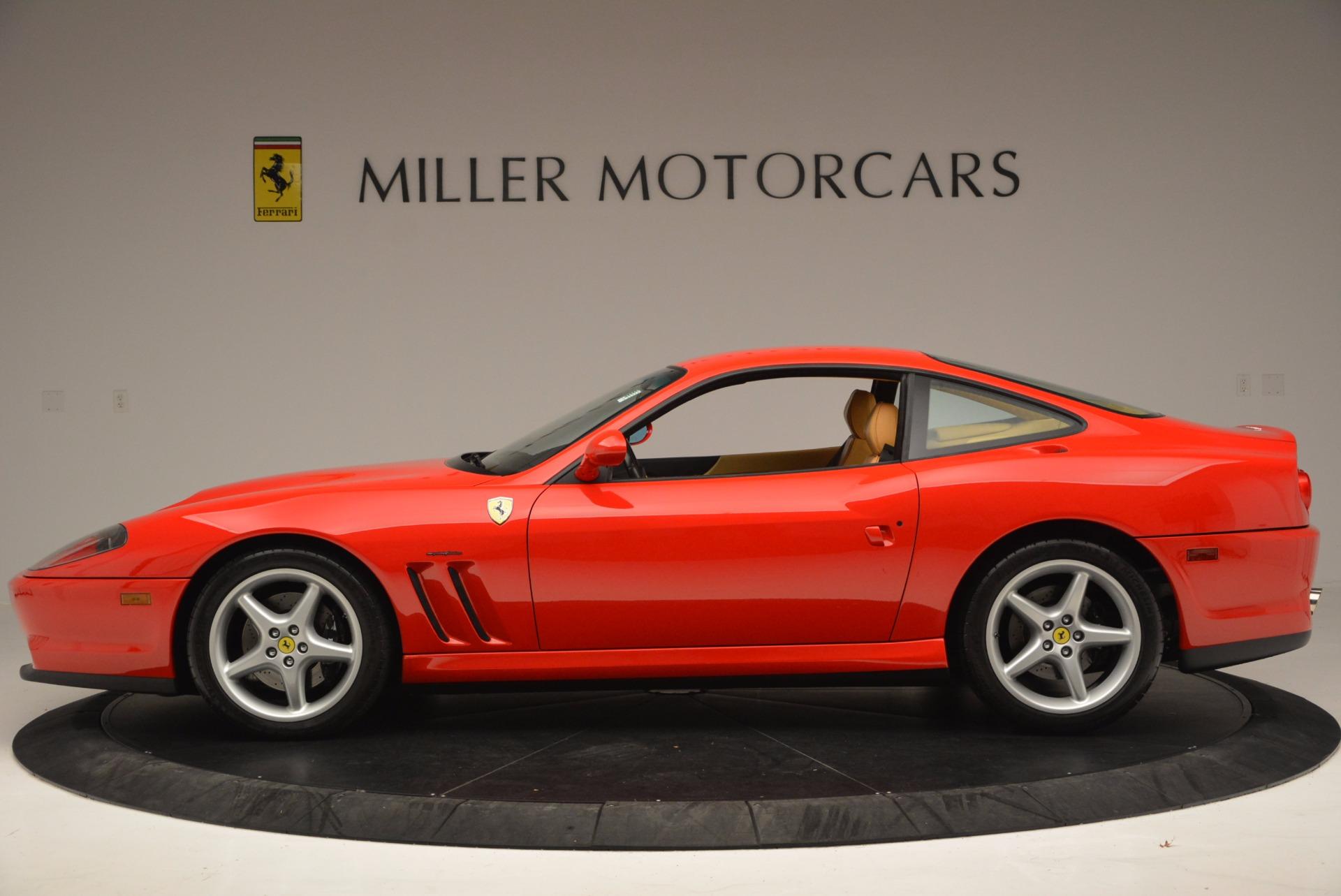 Used 2000 Ferrari 550 Maranello  For Sale In Greenwich, CT 623_p3