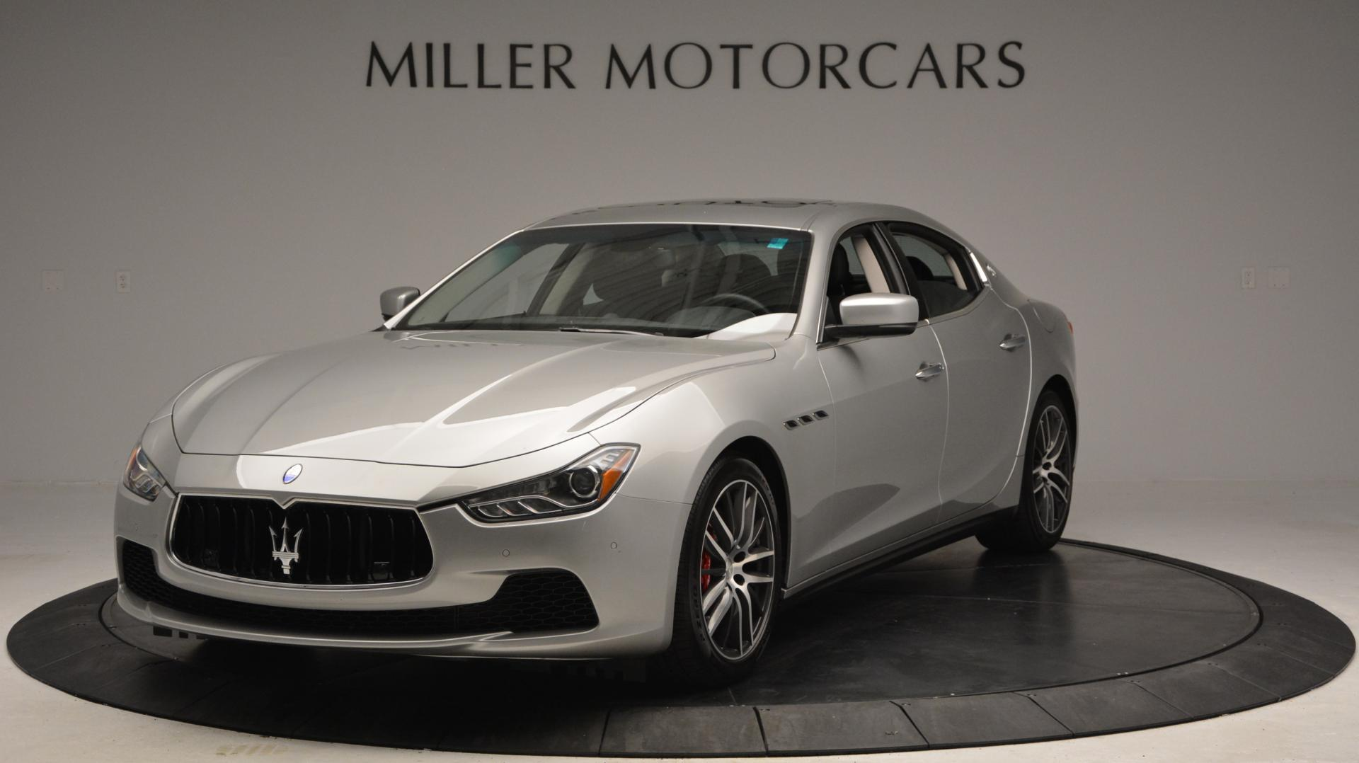 New 2016 Maserati Ghibli S Q4 For Sale In Greenwich, CT 63_main