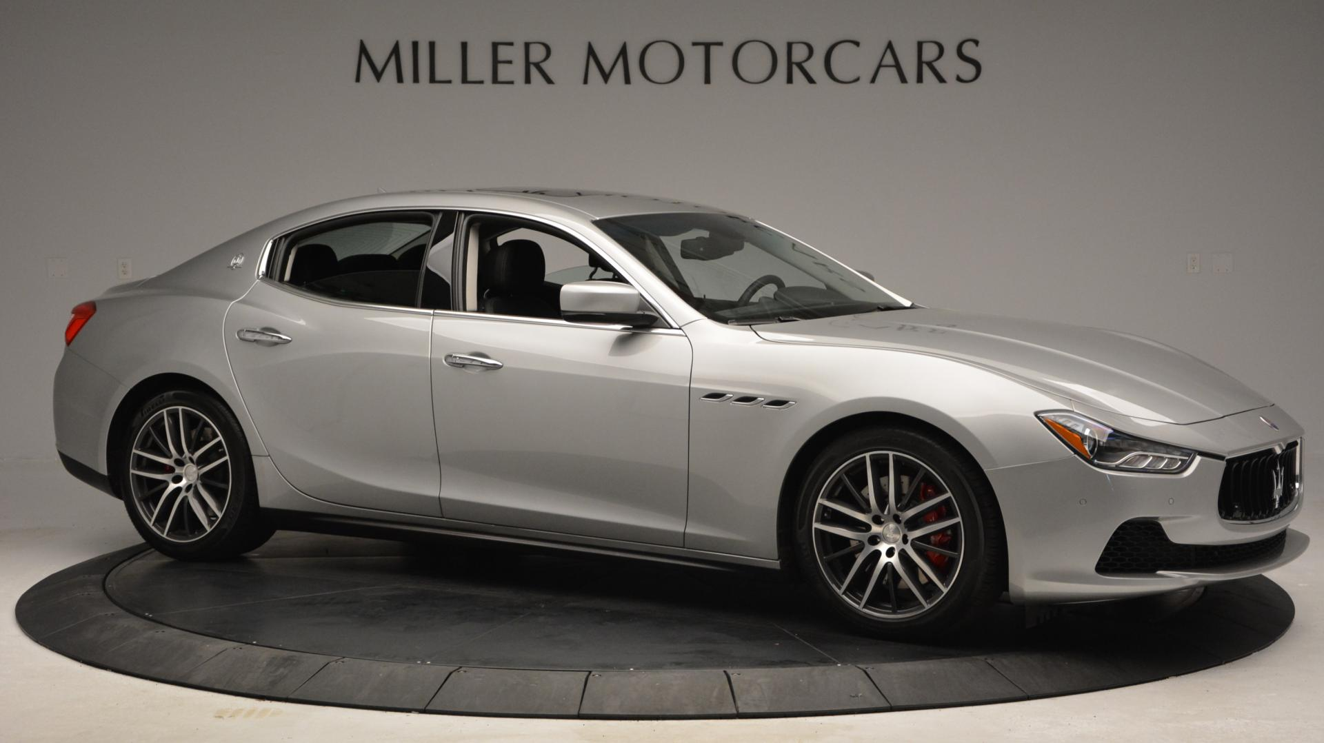 New 2016 Maserati Ghibli S Q4 For Sale In Greenwich, CT 63_p10
