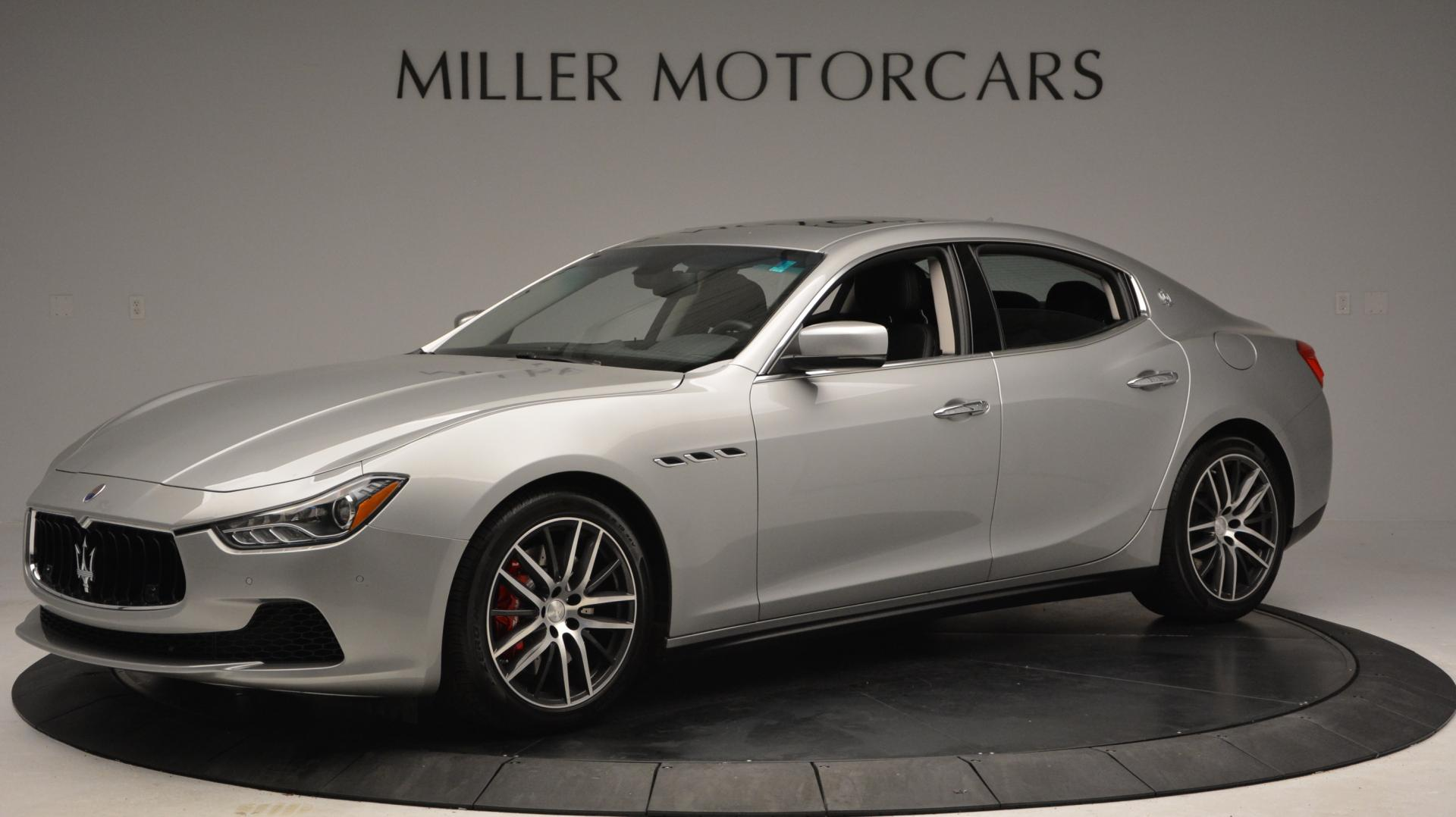 New 2016 Maserati Ghibli S Q4 For Sale In Greenwich, CT 63_p2