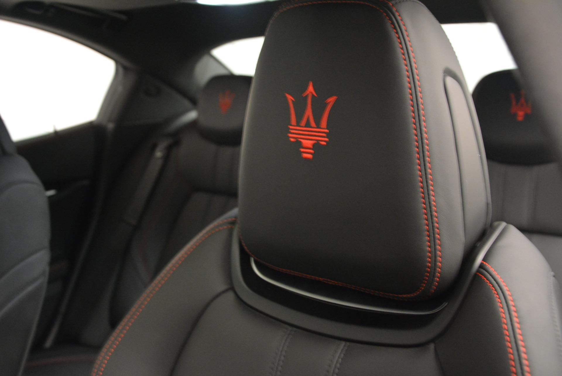 New 2017 Maserati Ghibli S Q4 For Sale In Greenwich, CT 630_p16