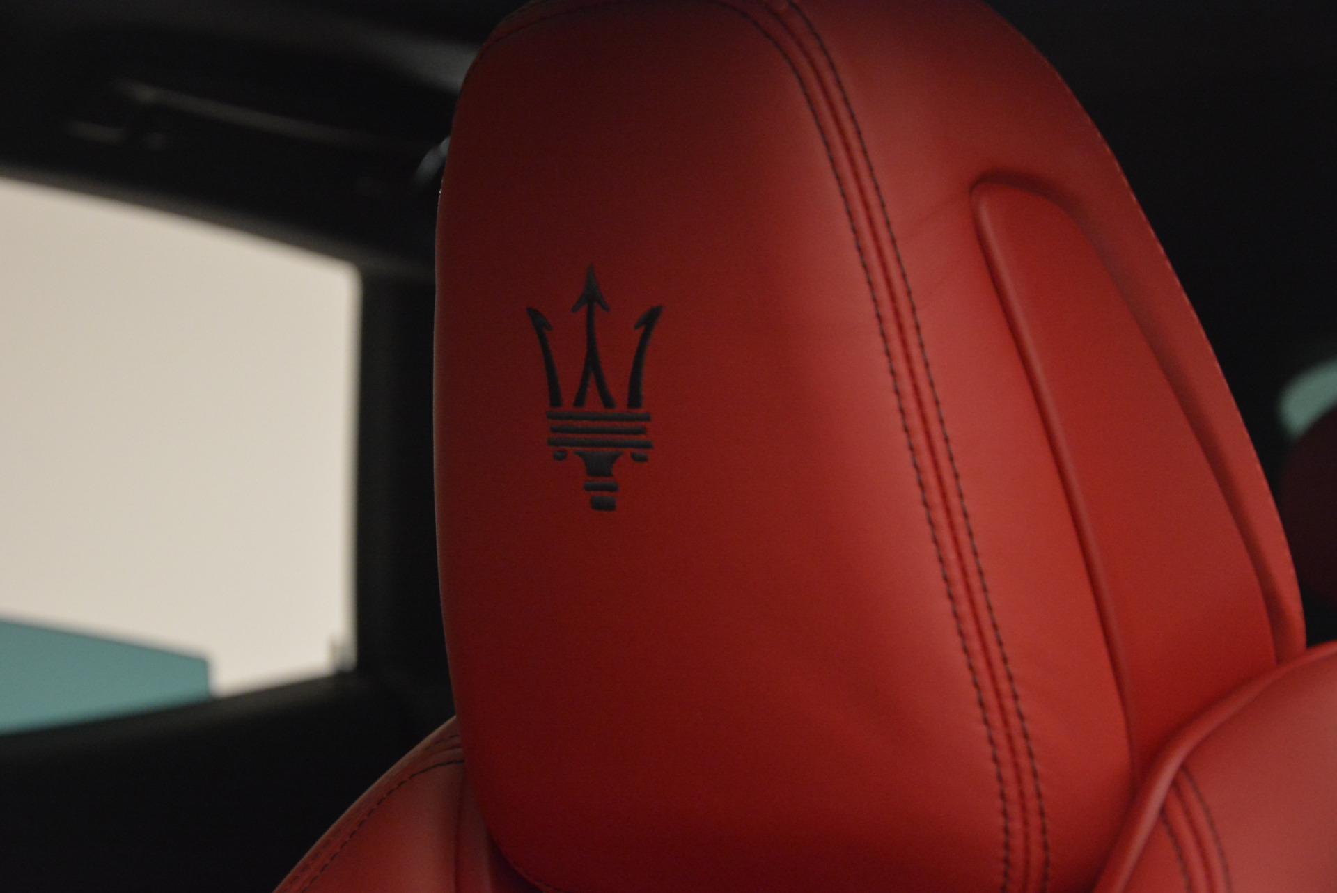 Used 2017 Maserati Levante Ex Service Loaner For Sale In Greenwich, CT 631_p16