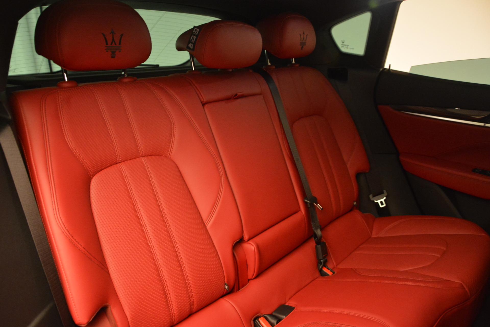 Used 2017 Maserati Levante Ex Service Loaner For Sale In Greenwich, CT 631_p26