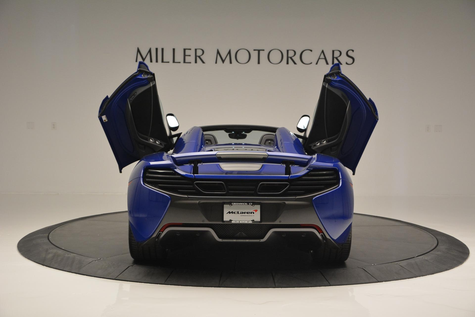 Used 2016 McLaren 650S Spider  For Sale In Greenwich, CT 65_p21