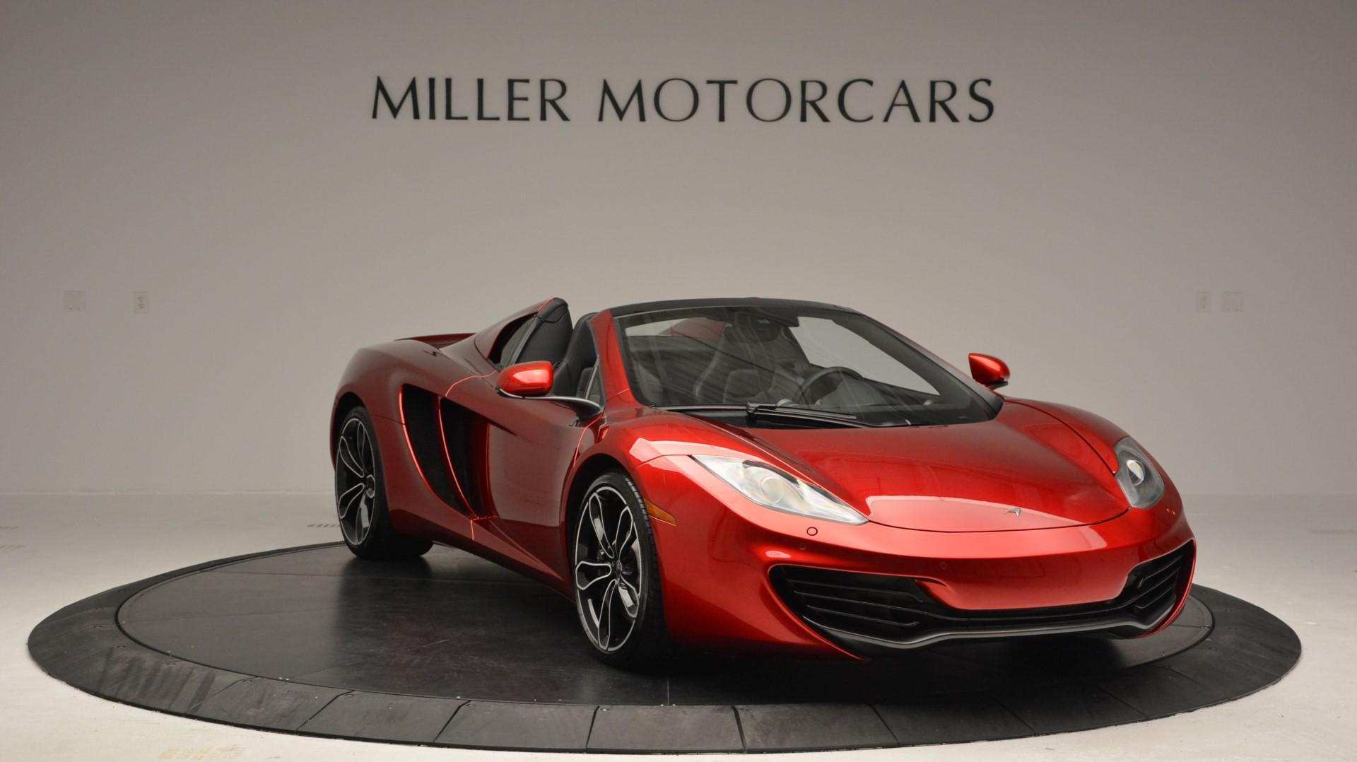Used 2013 McLaren 12C Spider  For Sale In Greenwich, CT 67_p11