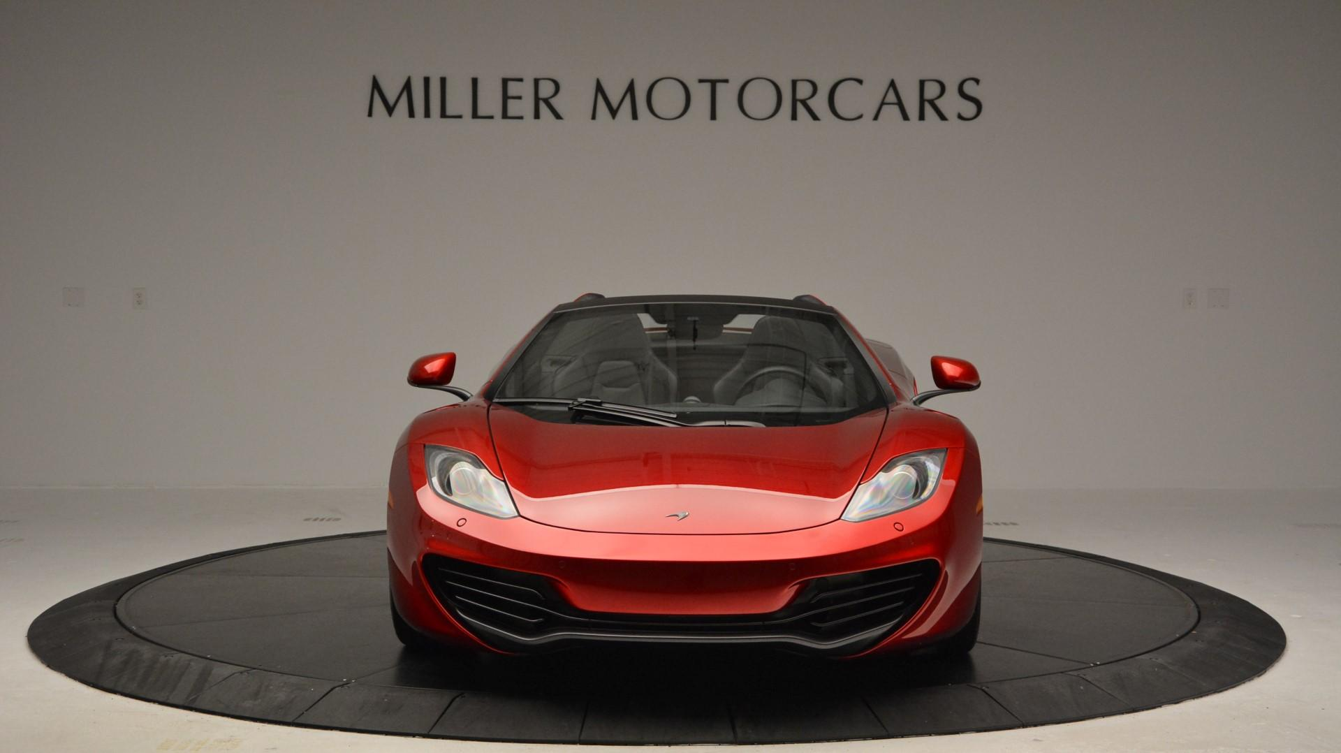Used 2013 McLaren 12C Spider  For Sale In Greenwich, CT 67_p12