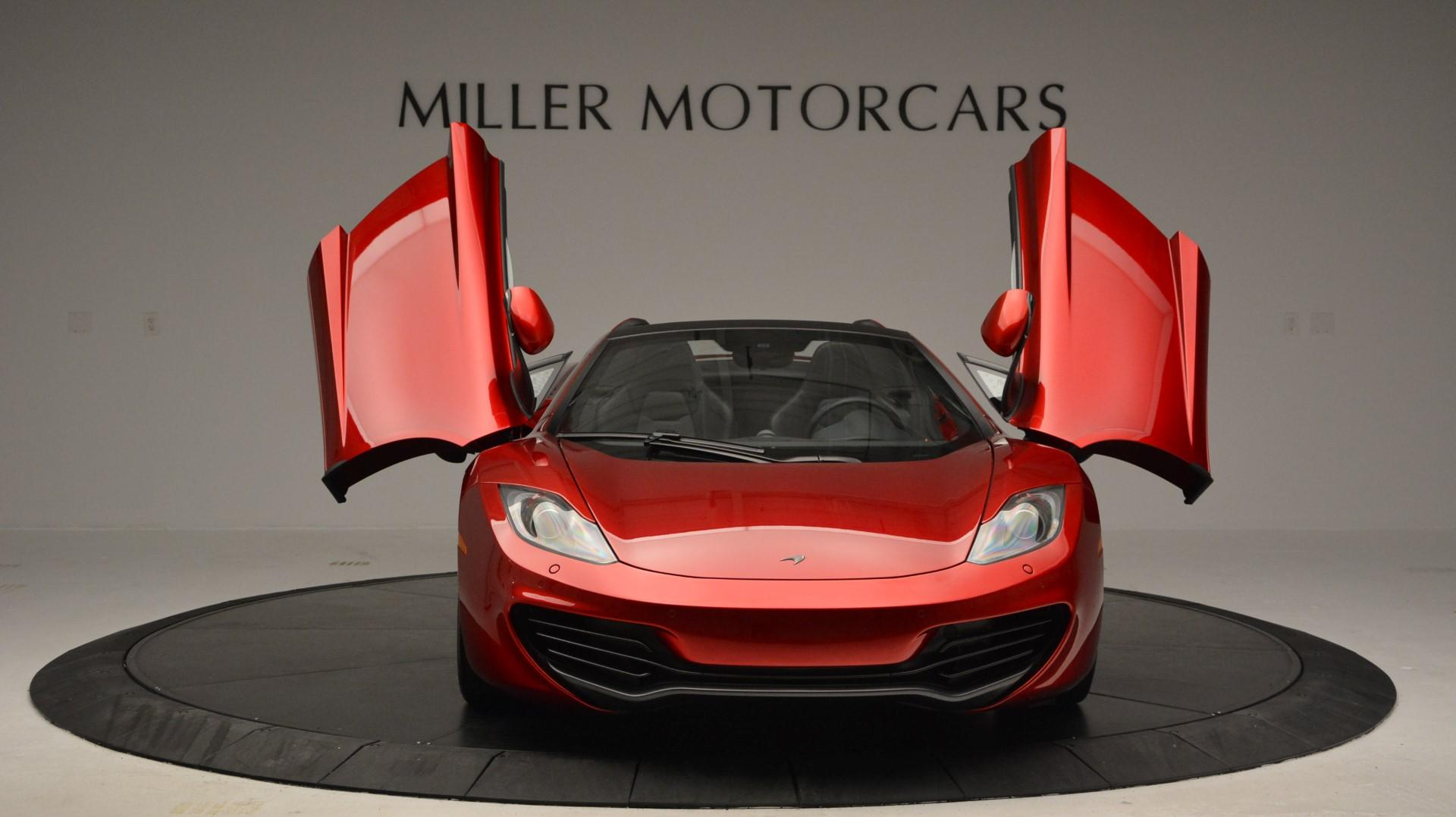 Used 2013 McLaren 12C Spider  For Sale In Greenwich, CT 67_p13