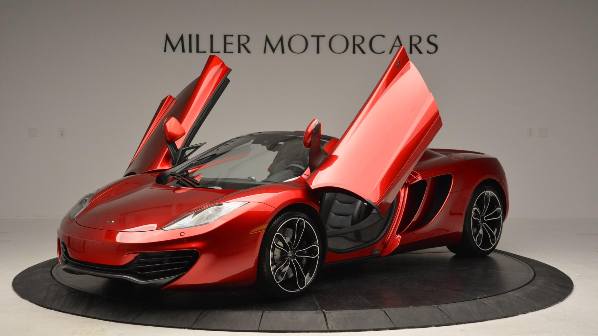 Used 2013 McLaren 12C Spider  For Sale In Greenwich, CT 67_p14