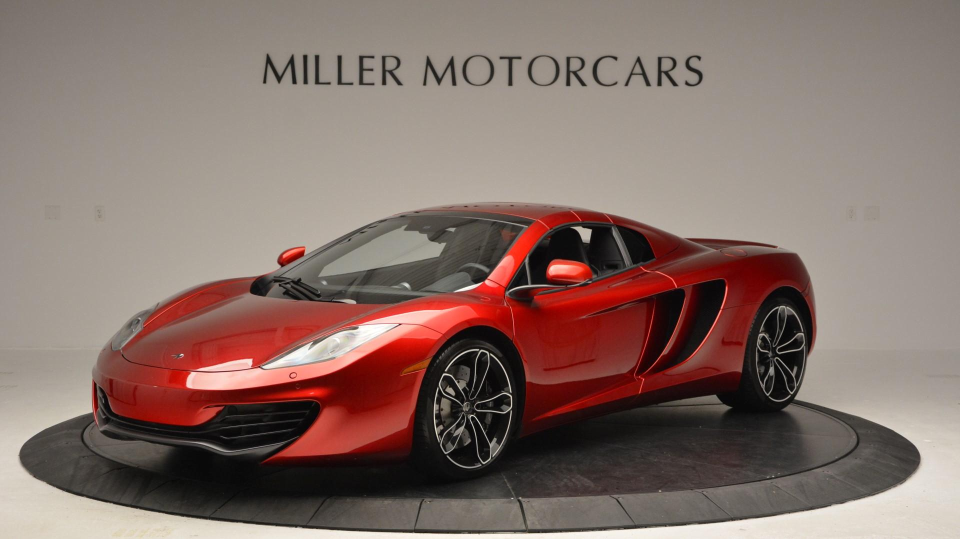 Used 2013 McLaren 12C Spider  For Sale In Greenwich, CT 67_p15