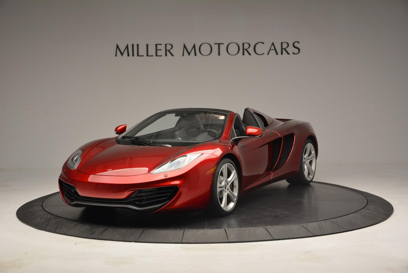 Used 2013 McLaren 12C Spider  For Sale In Greenwich, CT