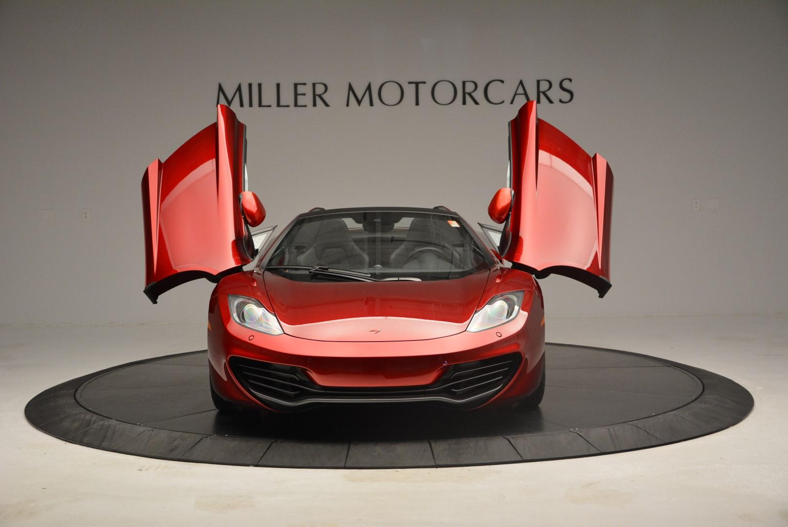 Used 2013 McLaren 12C Spider  For Sale In Greenwich, CT 68_p13