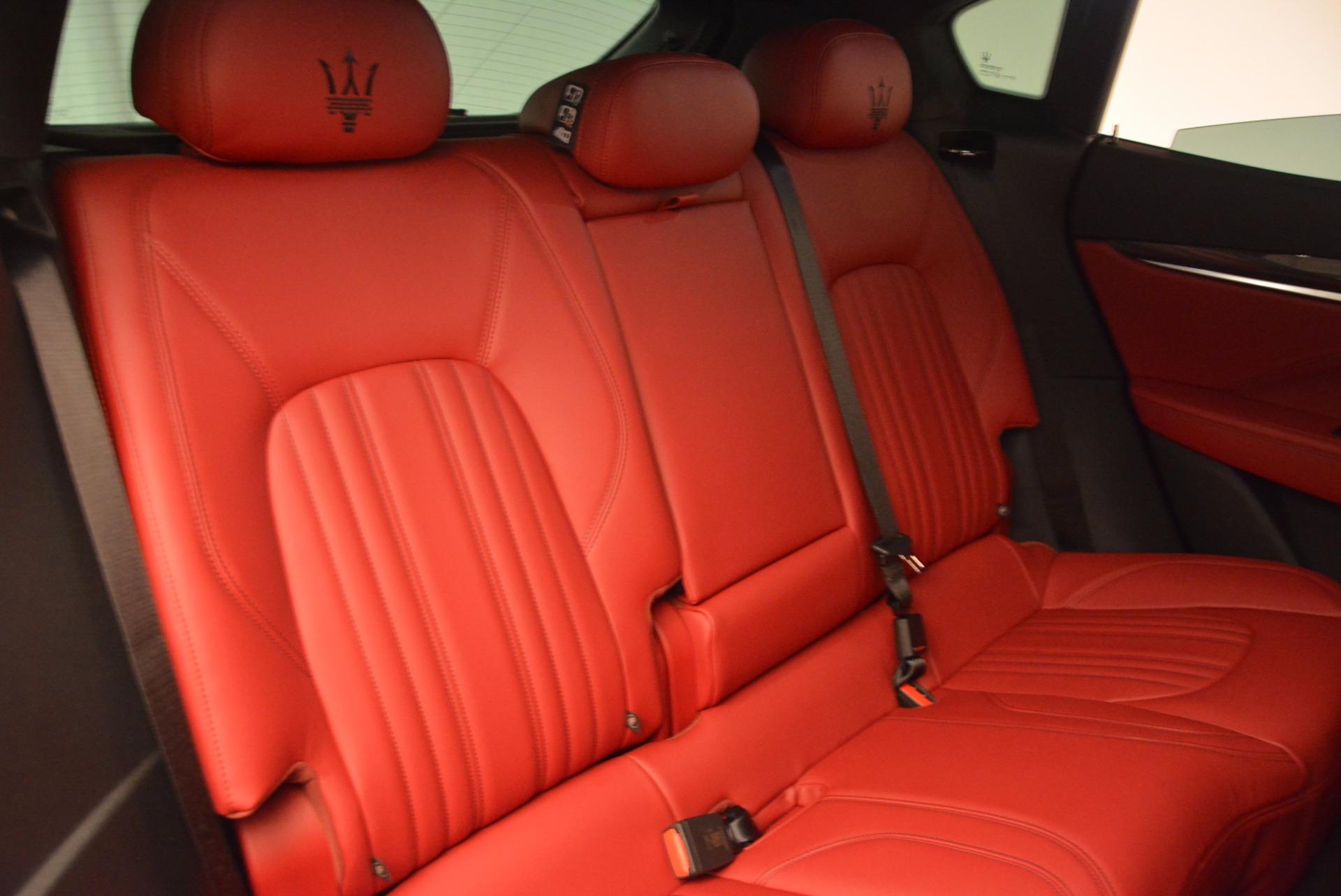 Used 2017 Maserati Levante S Q4 For Sale In Greenwich, CT 681_p25