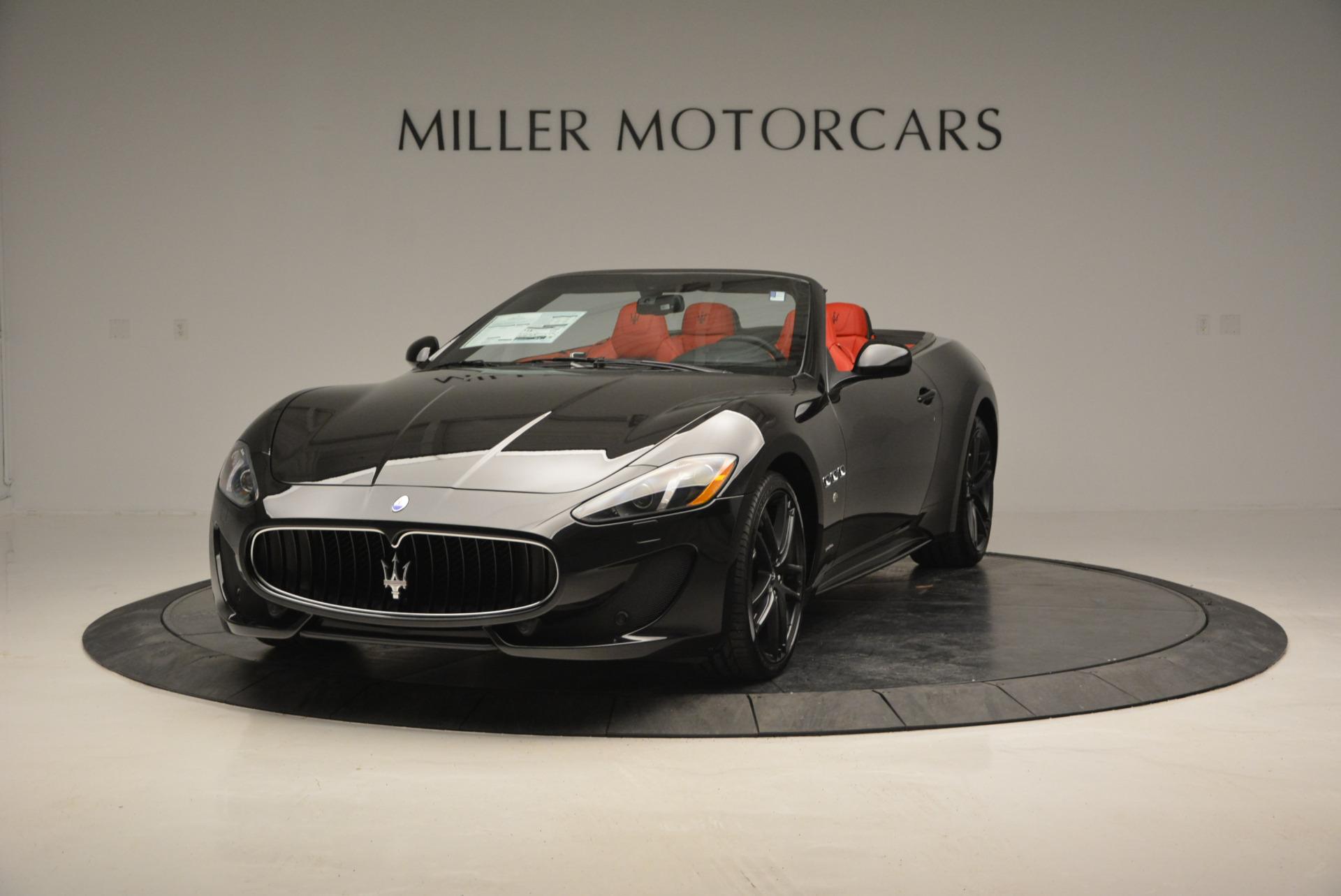 New 2017 Maserati GranTurismo Cab Sport For Sale In Greenwich, CT 687_main