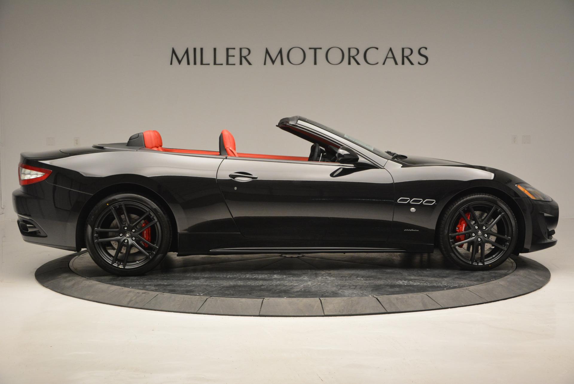 New 2017 Maserati GranTurismo Cab Sport For Sale In Greenwich, CT 687_p12
