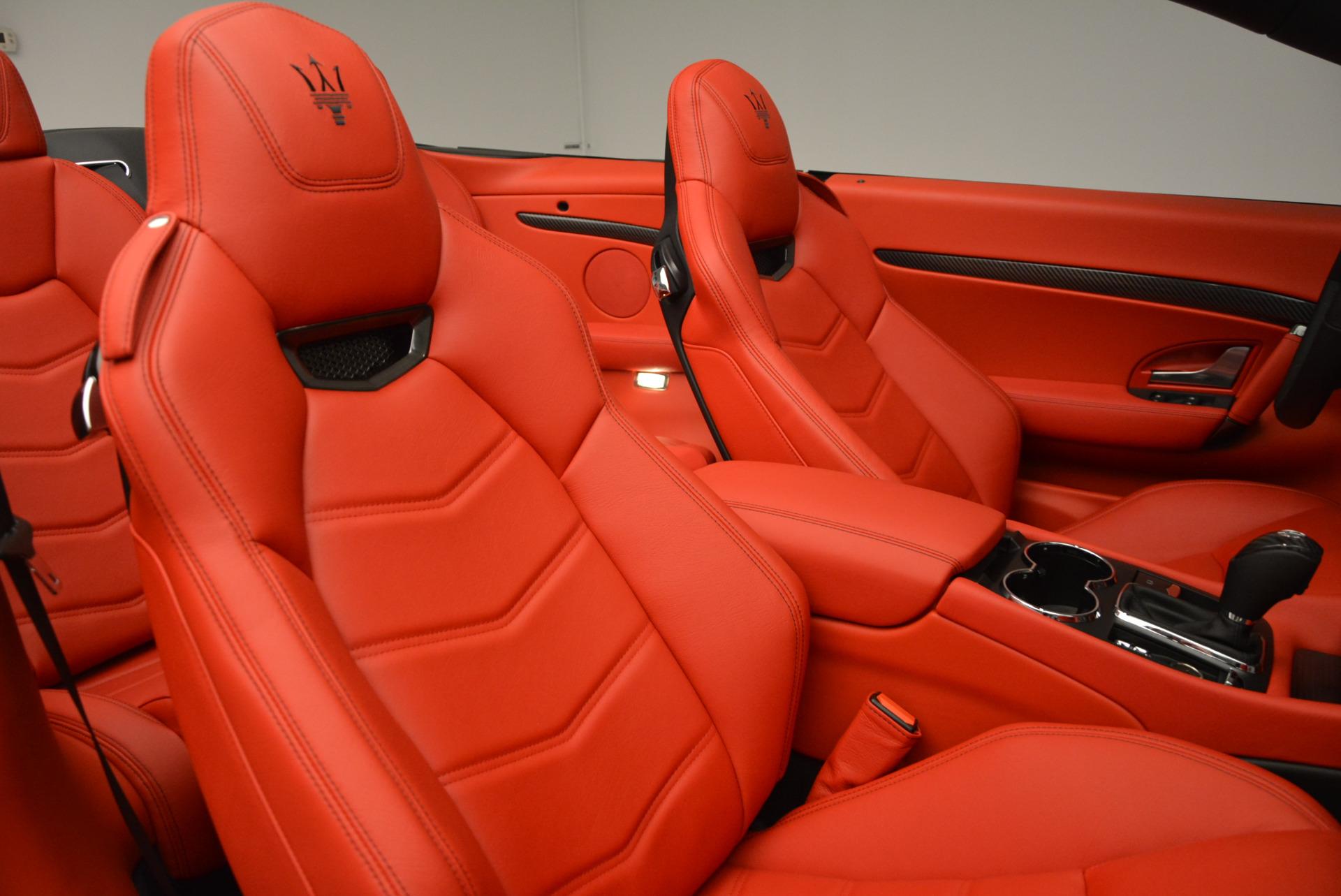 New 2017 Maserati GranTurismo Cab Sport For Sale In Greenwich, CT 687_p34