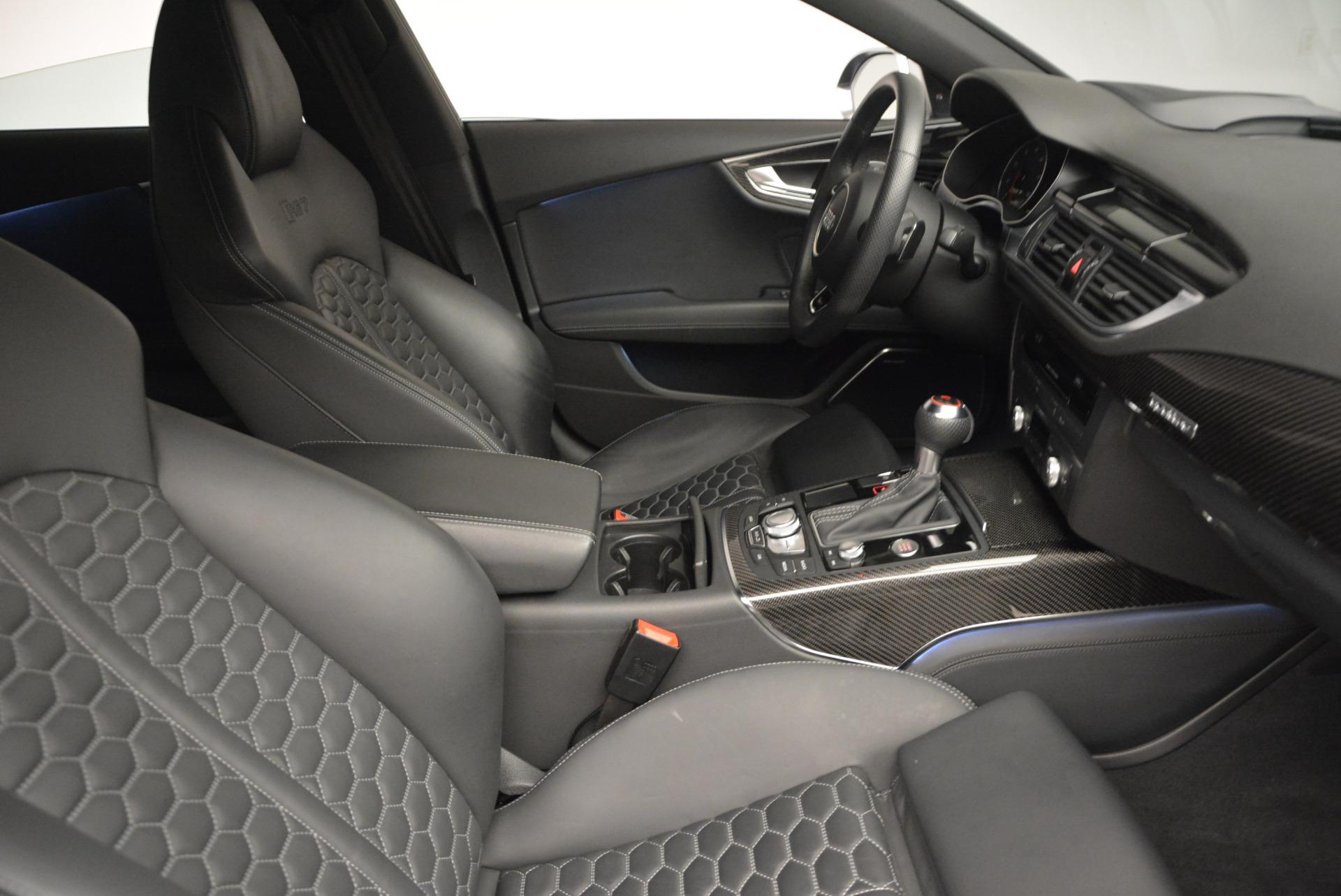 Used 2014 Audi RS 7 4.0T quattro Prestige For Sale In Greenwich, CT 707_p24