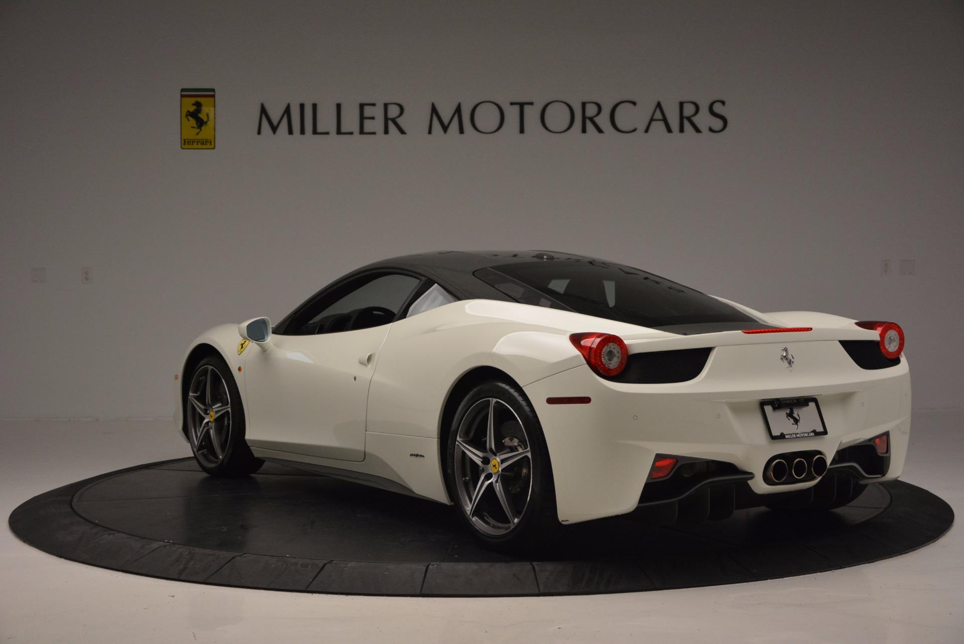 Used 2012 Ferrari 458 Italia  For Sale In Greenwich, CT 709_p5