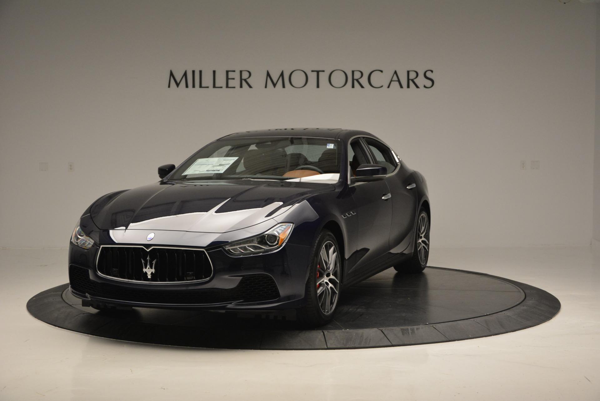 New 2017 Maserati Ghibli S Q4 For Sale In Greenwich, CT 714_main