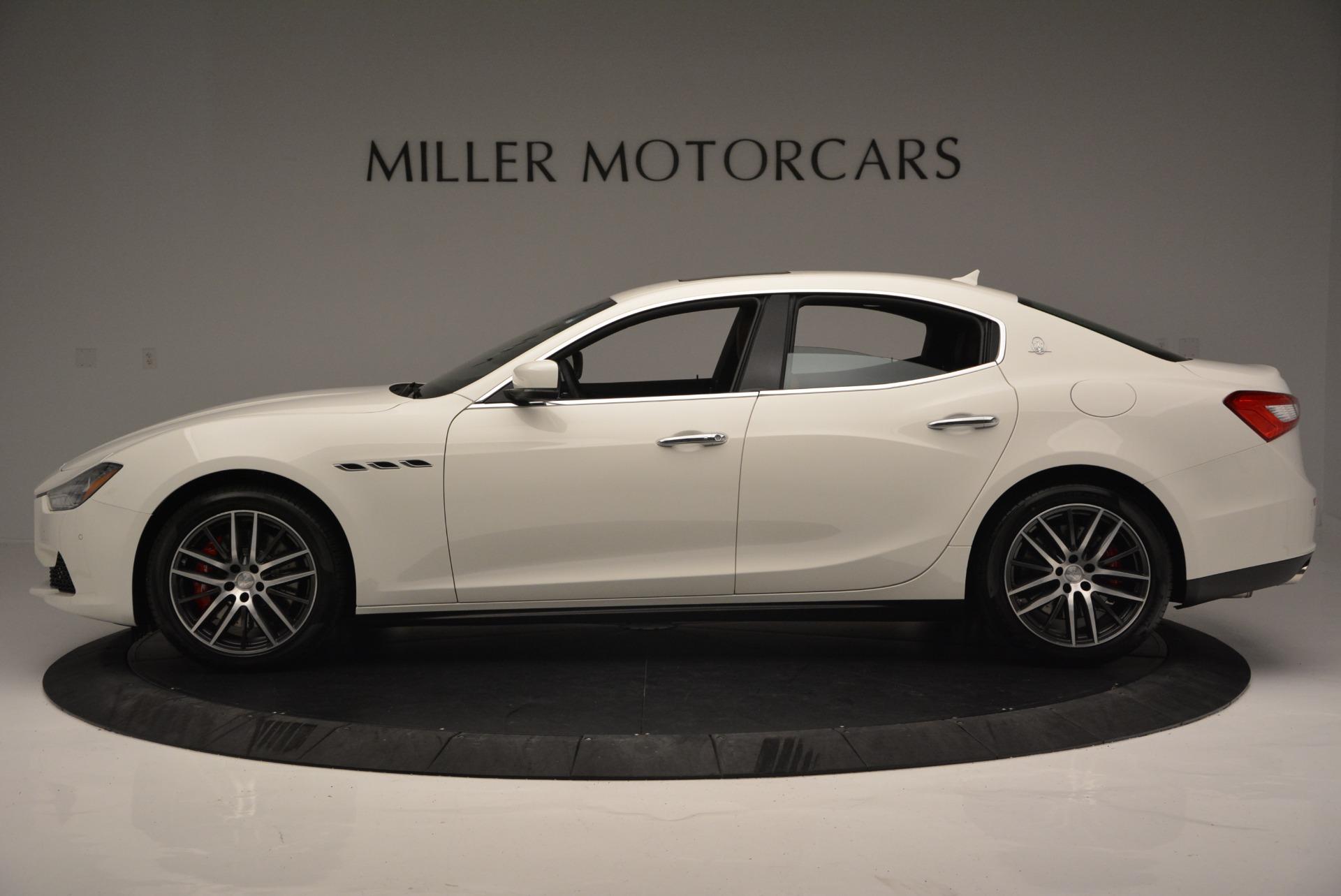 Used 2017 Maserati Ghibli S Q4 Ex-Loaner For Sale In Greenwich, CT 719_p3