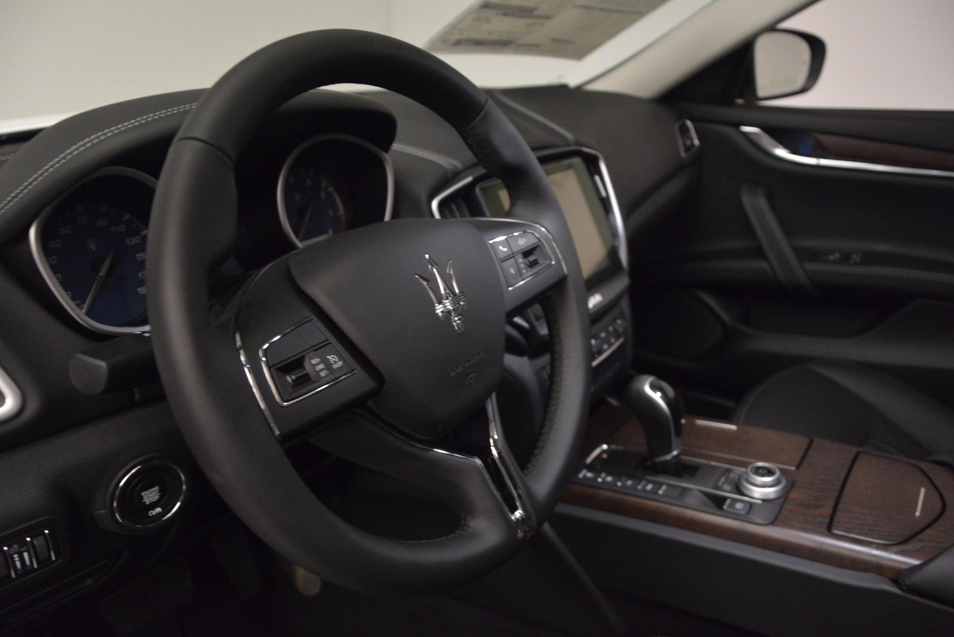 New 2017 Maserati Ghibli SQ4 For Sale In Greenwich, CT 724_p16