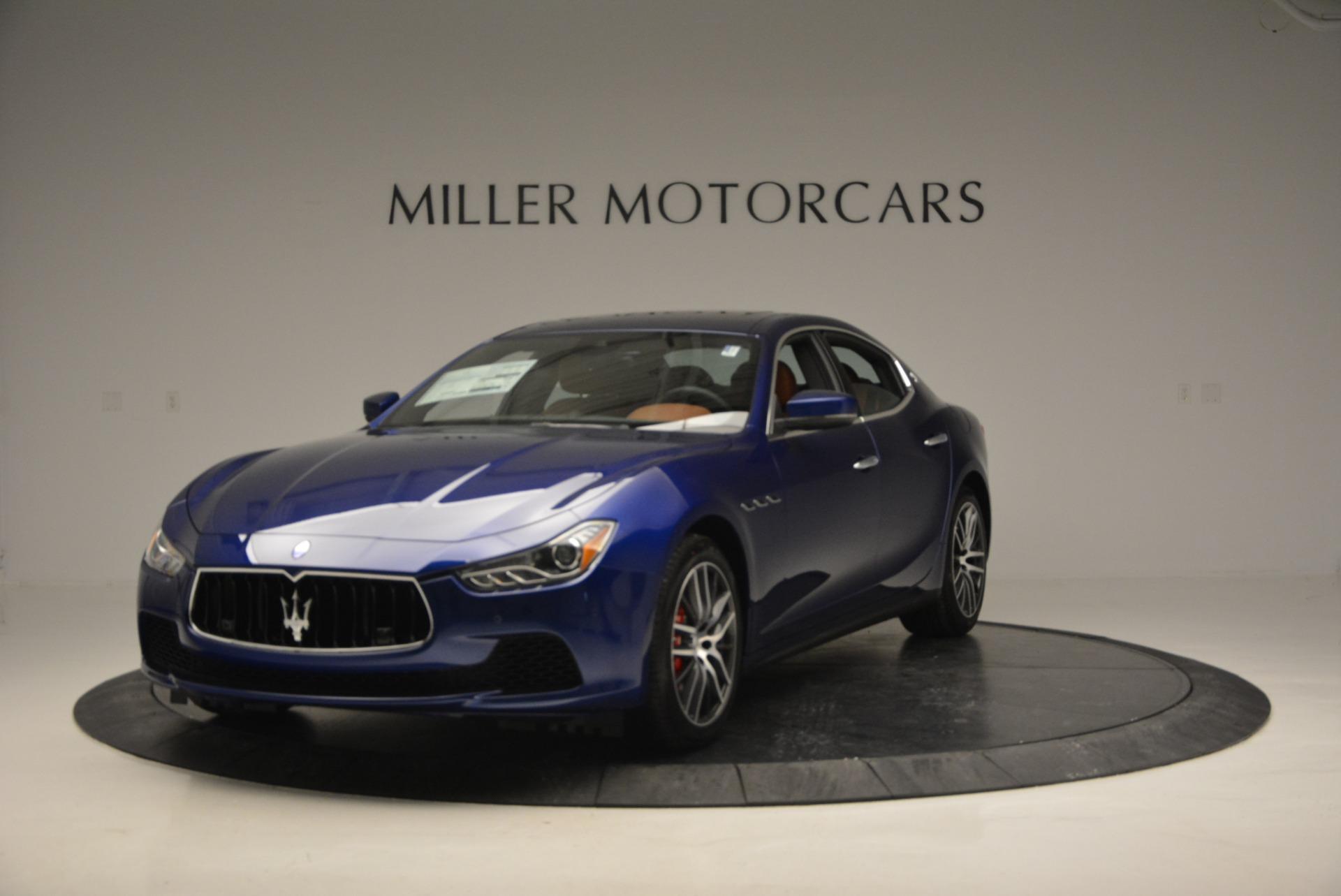 New 2017 Maserati Ghibli S Q4 For Sale In Greenwich, CT 767_main