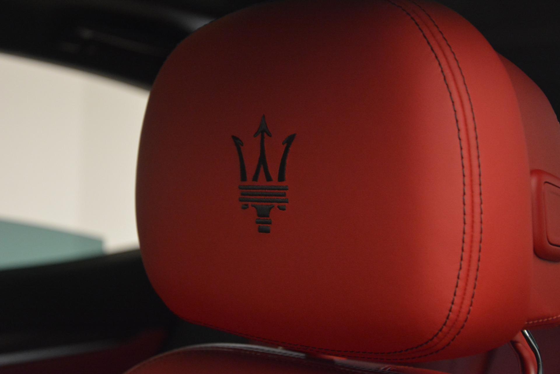 New 2017 Maserati Levante S For Sale In Greenwich, CT 782_p18