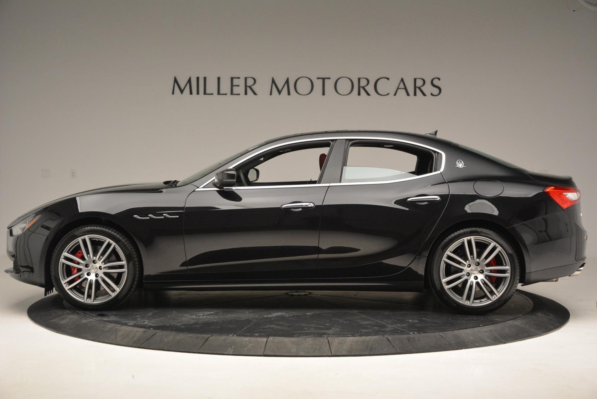 New 2017 Maserati Ghibli S Q4 For Sale In Greenwich, CT 789_p3