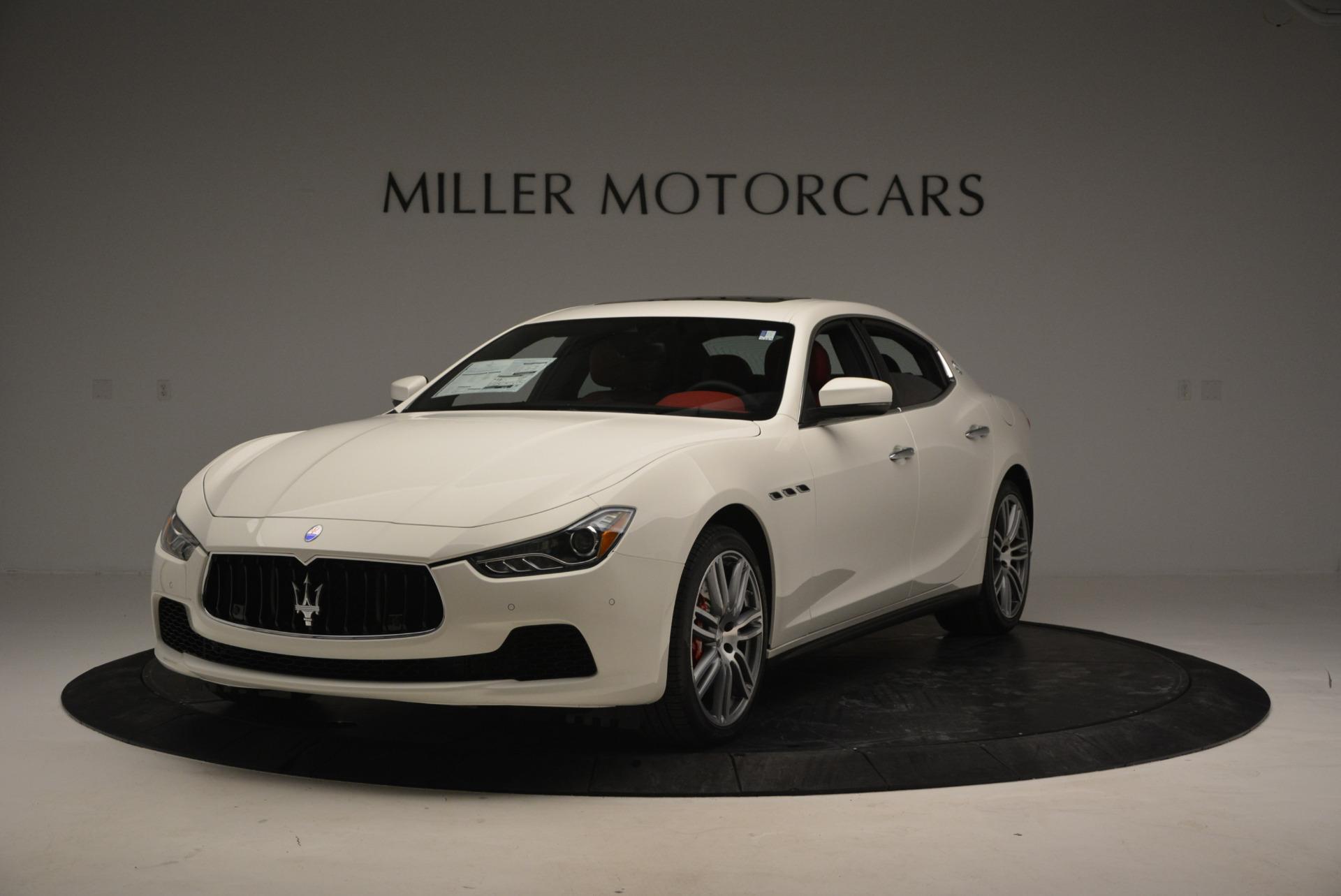 New 2017 Maserati Ghibli S Q4 For Sale In Greenwich, CT 792_main