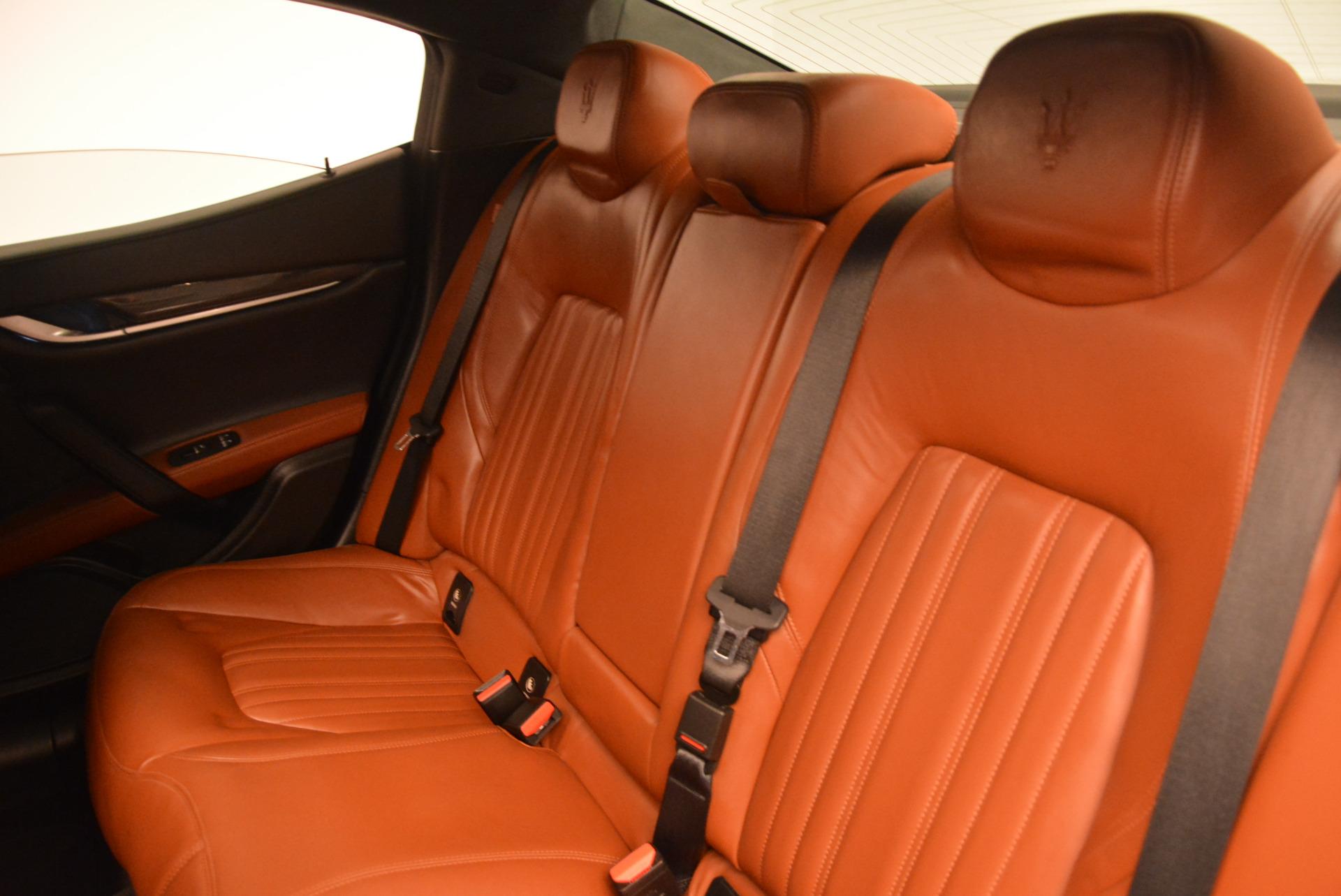 Used 2014 Maserati Ghibli S Q4 For Sale In Greenwich, CT 805_p17
