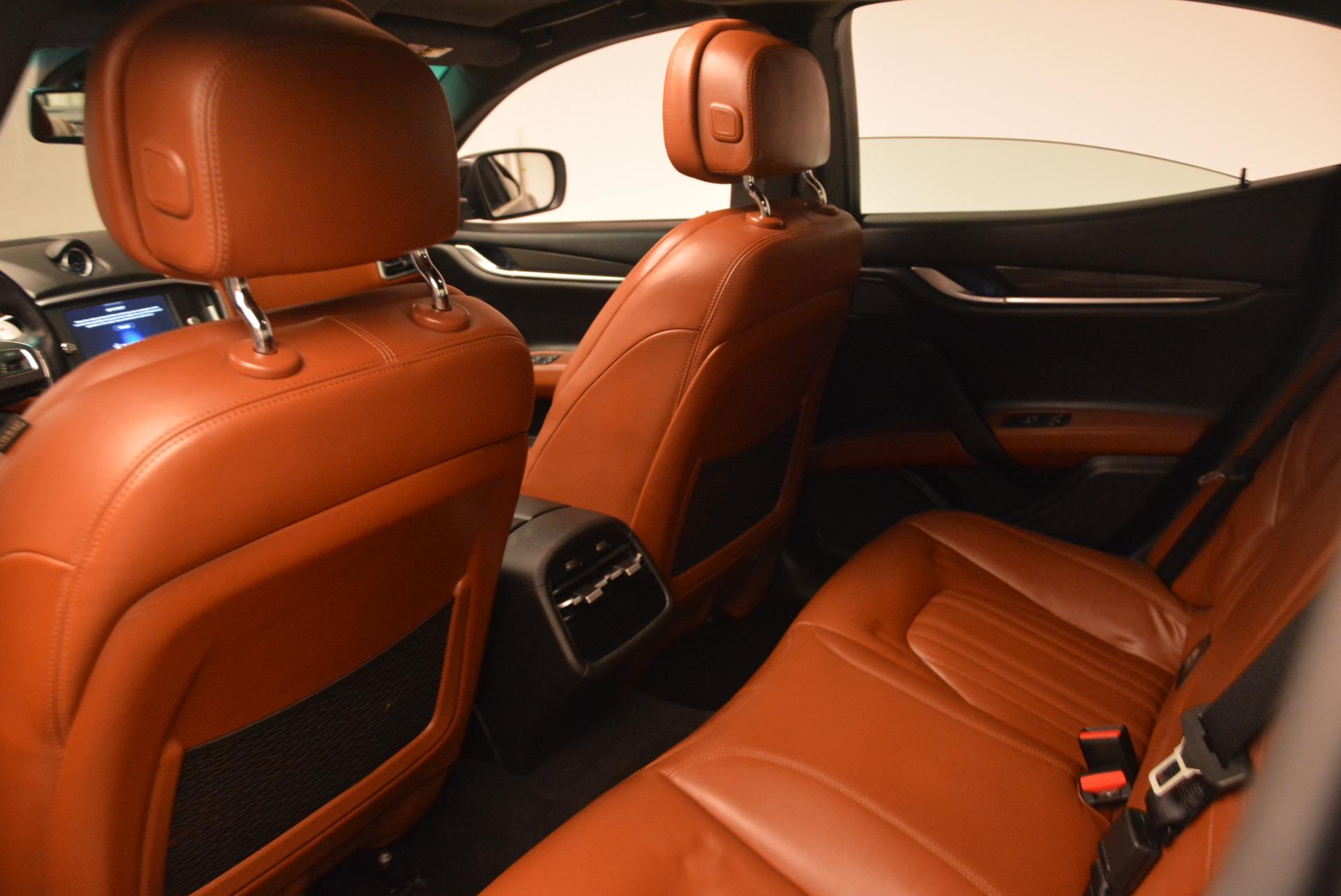 Used 2014 Maserati Ghibli S Q4 For Sale In Greenwich, CT 805_p19