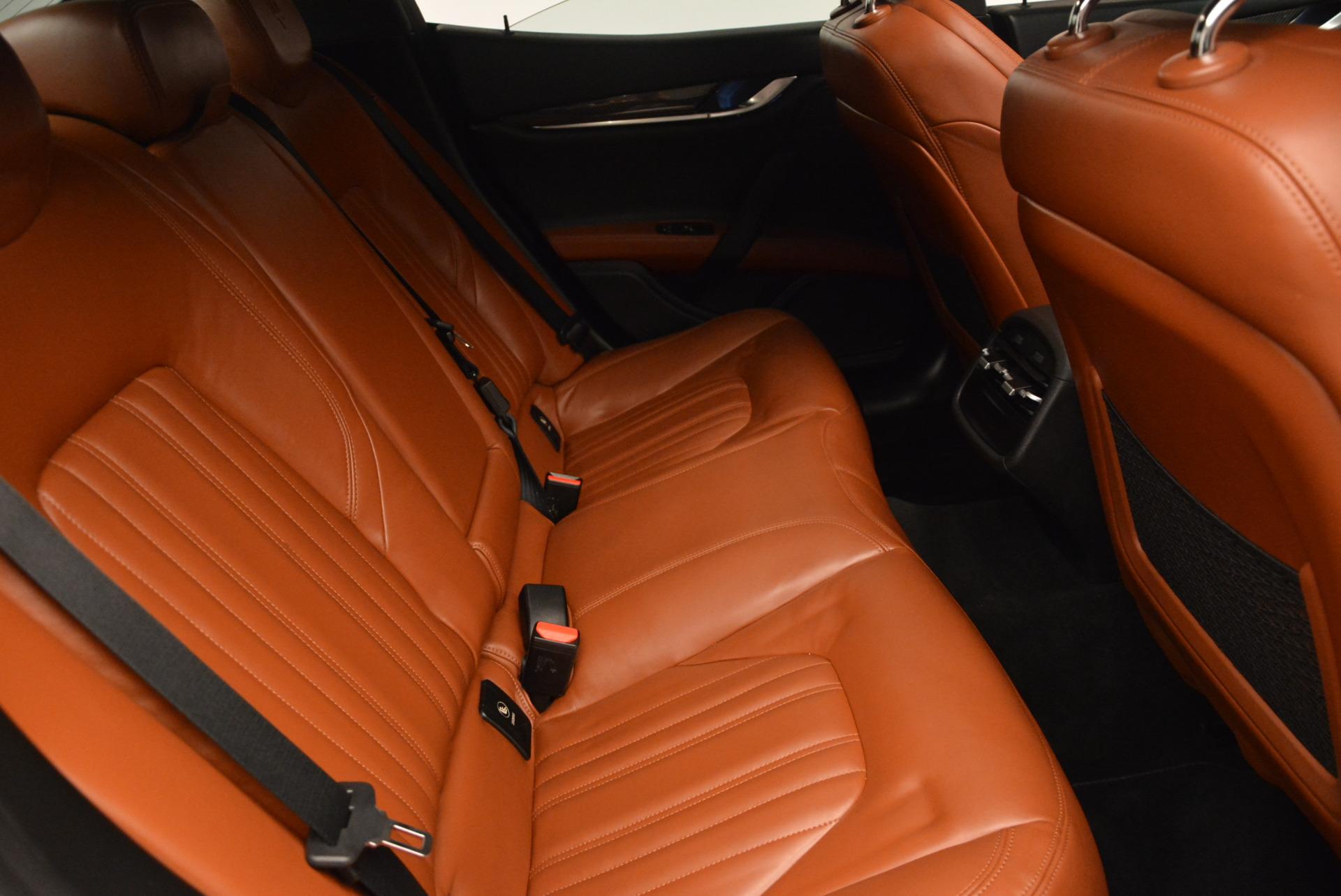 Used 2014 Maserati Ghibli S Q4 For Sale In Greenwich, CT 805_p24